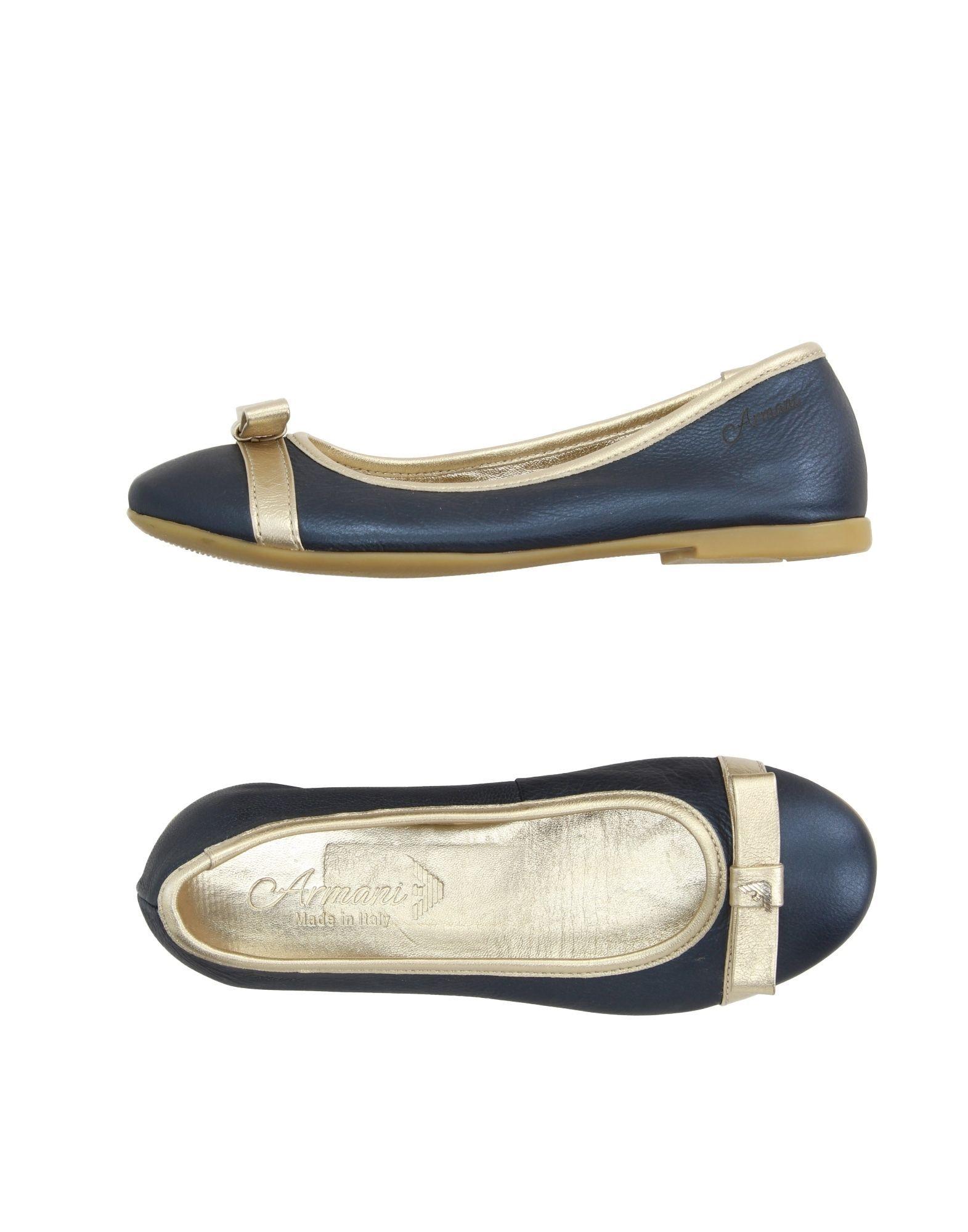 FOOTWEAR Armani Junior Dark blue Girl Leather