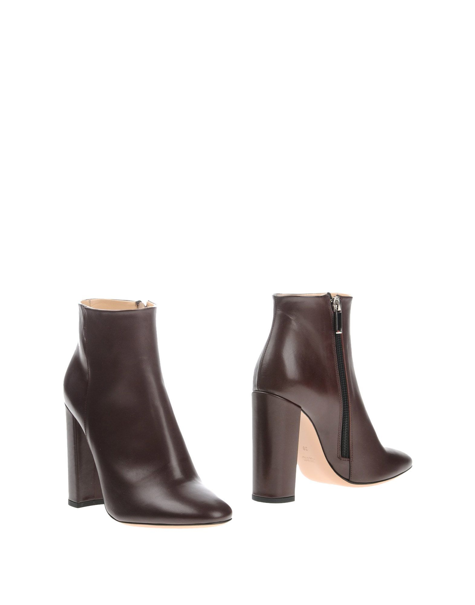 Marco Barbabella Cocoa Calf Leather Ankle Boots