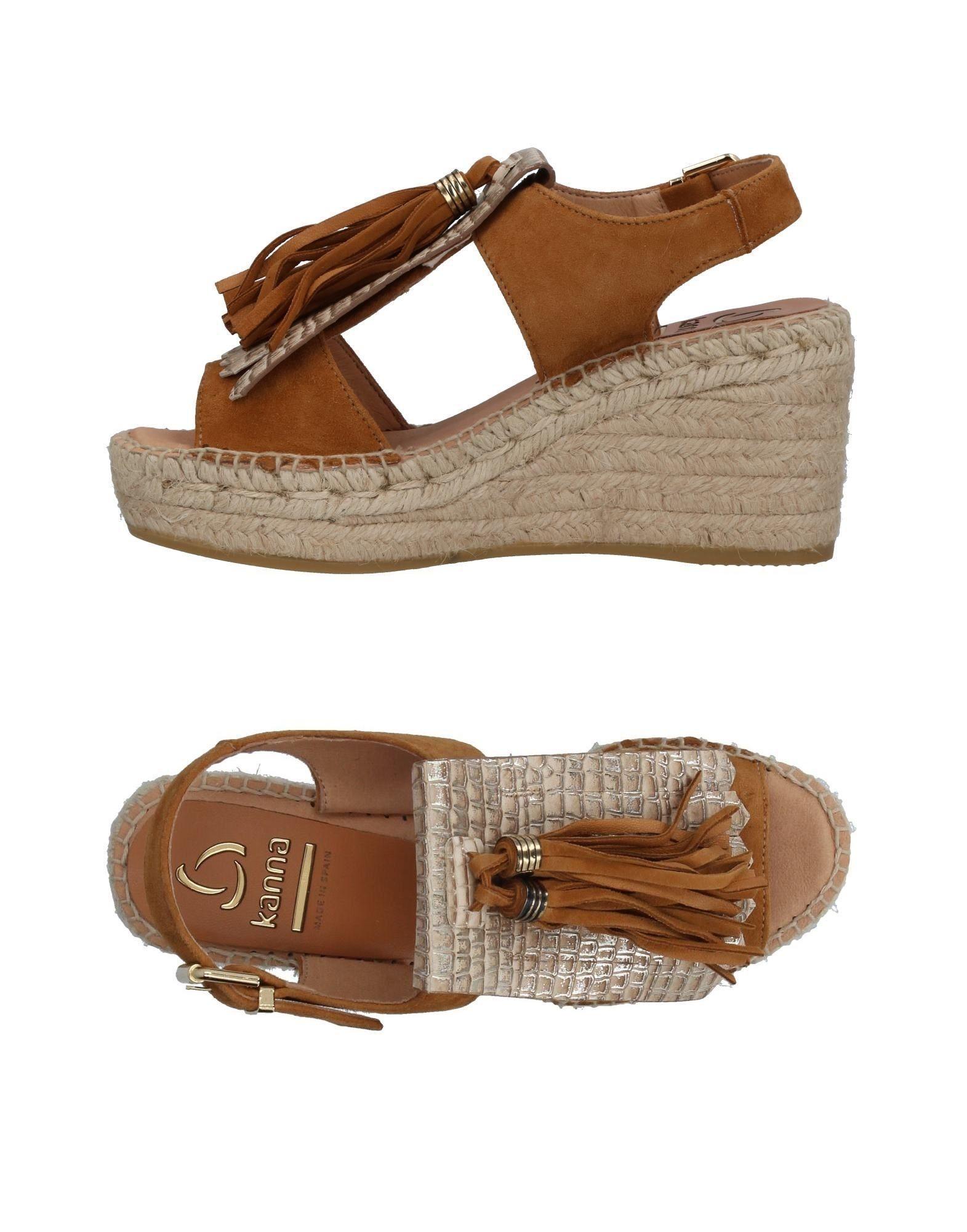 Footwear Kanna Camel Women's Leather