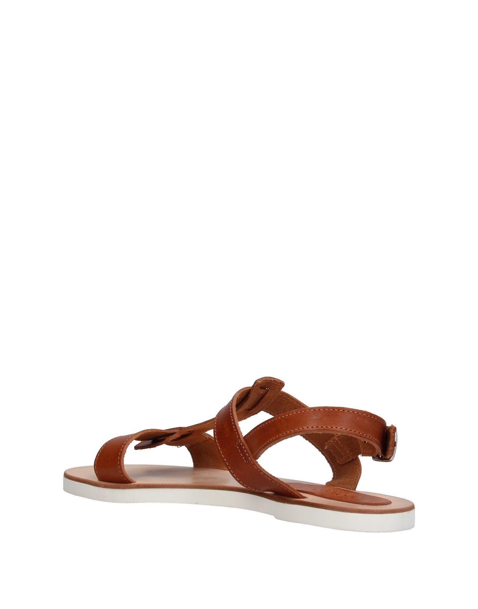 Carlo Pazolini Brown Leather Sandals