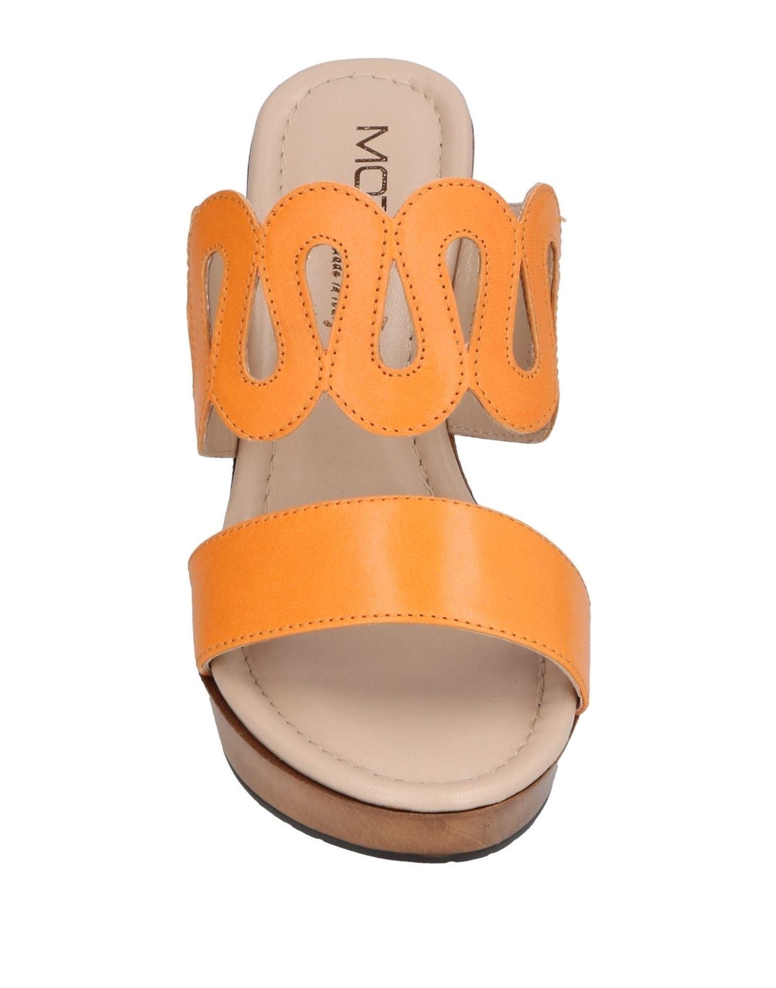 FOOTWEAR Mot-Cl� Apricot Woman Leather