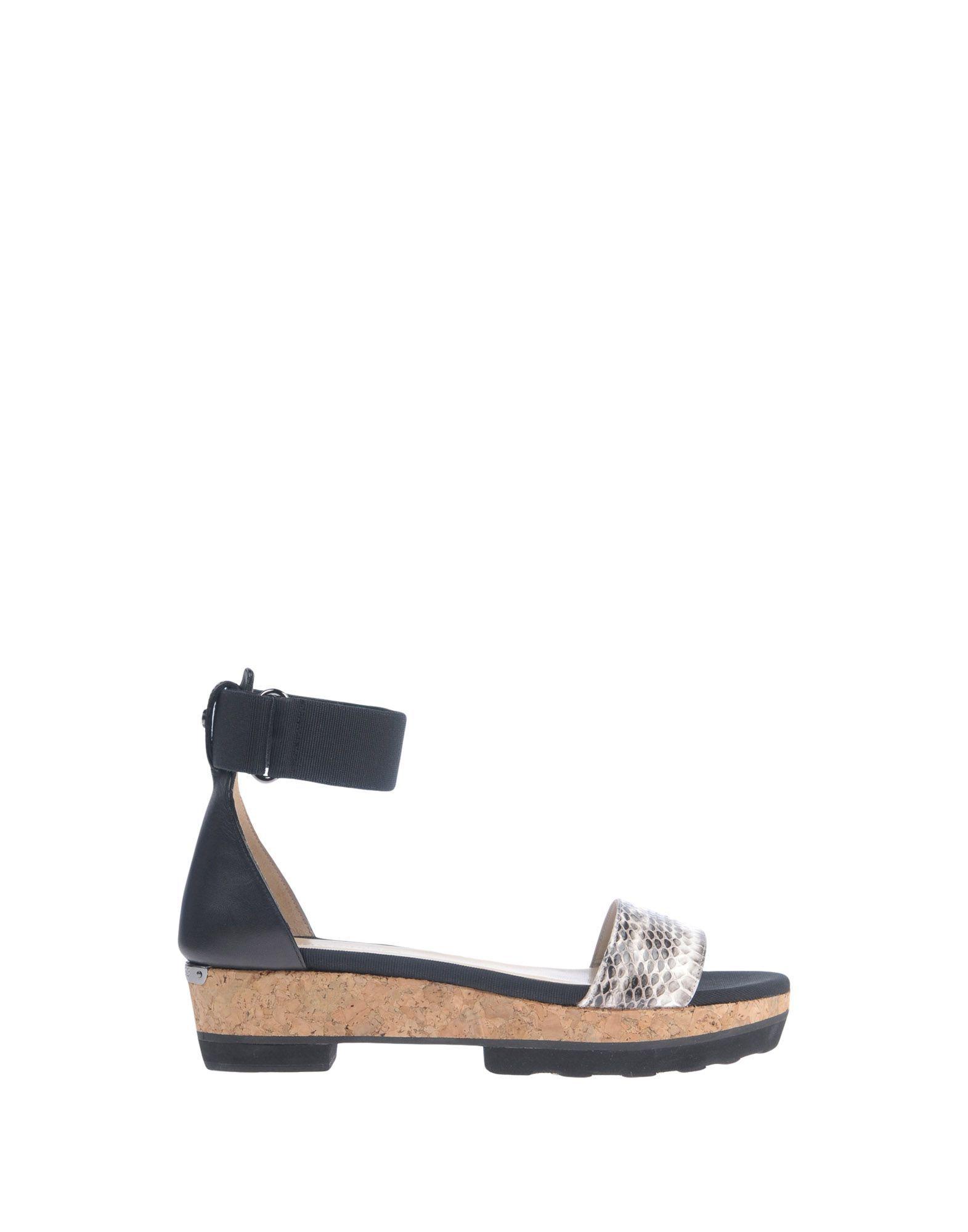 Jimmy Choo Black Leather Sandals