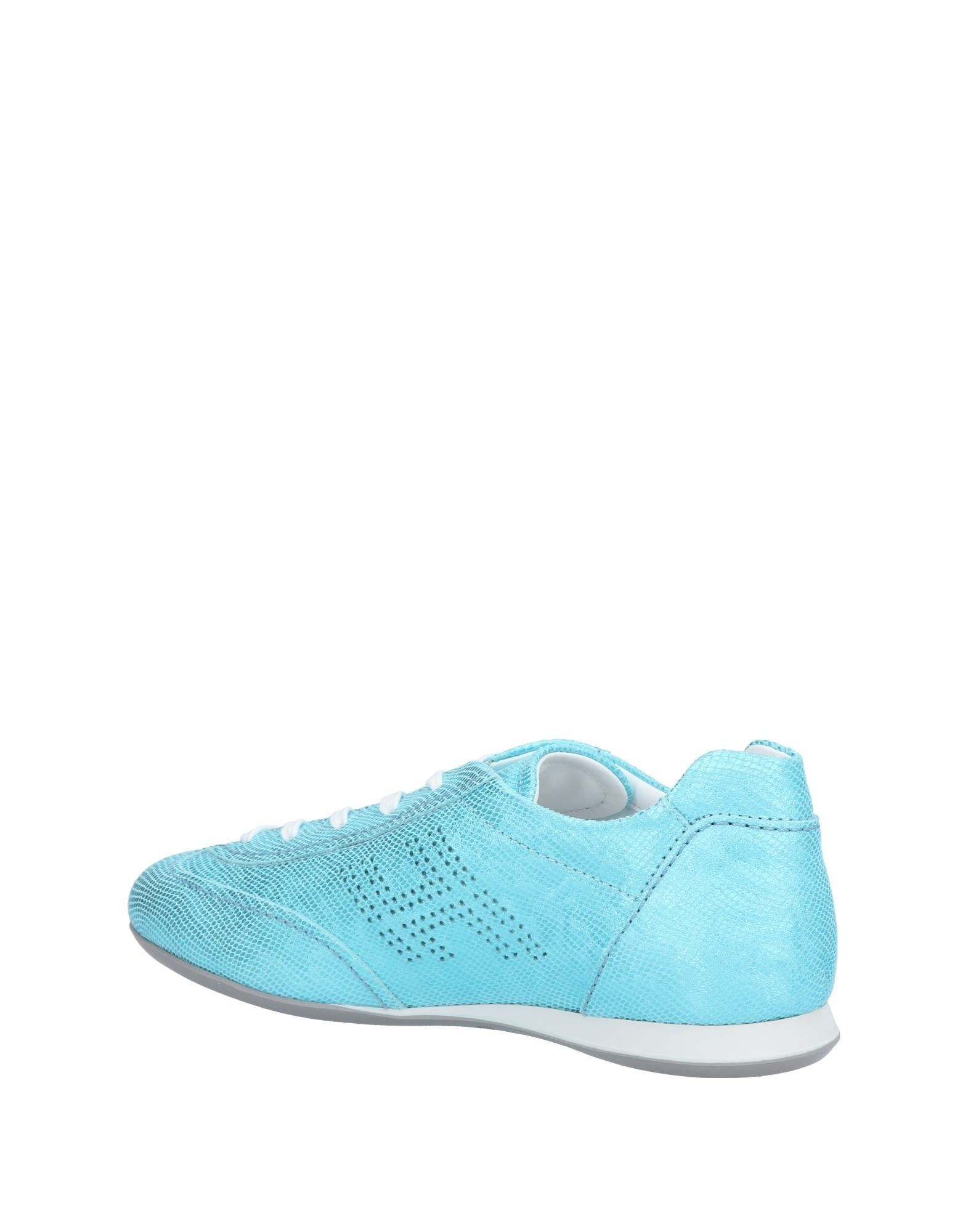 FOOTWEAR Hogan Turquoise Woman Leather