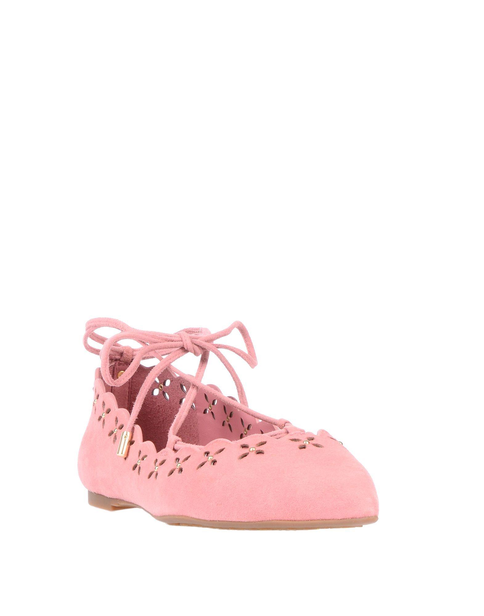 Footwear Michael Michael Kors Pastel Pink Women's Leather
