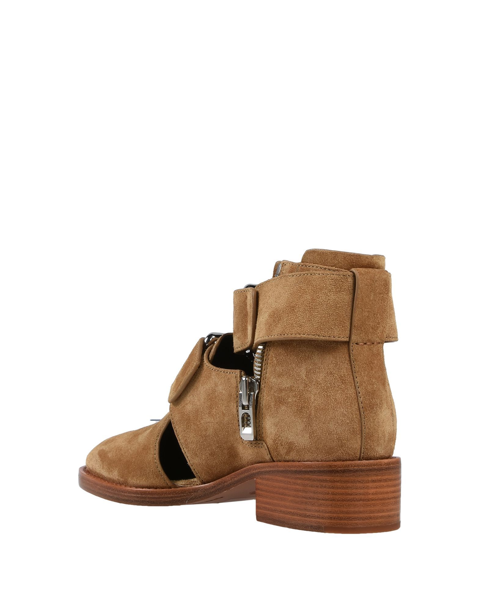 3.1 Phillip Lim Sand Leather Ankle Boots