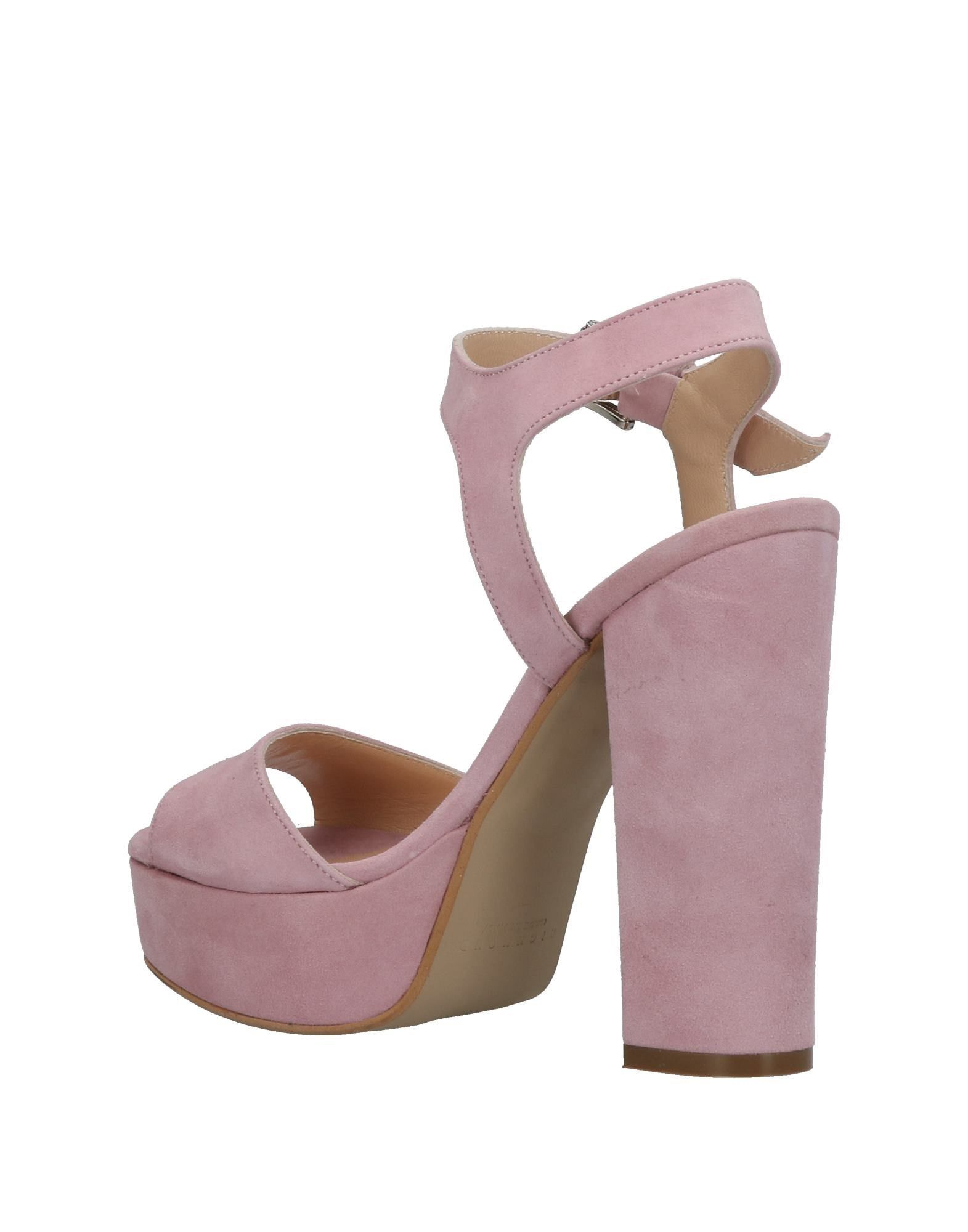 FOOTWEAR Richmond Pink Woman Leather