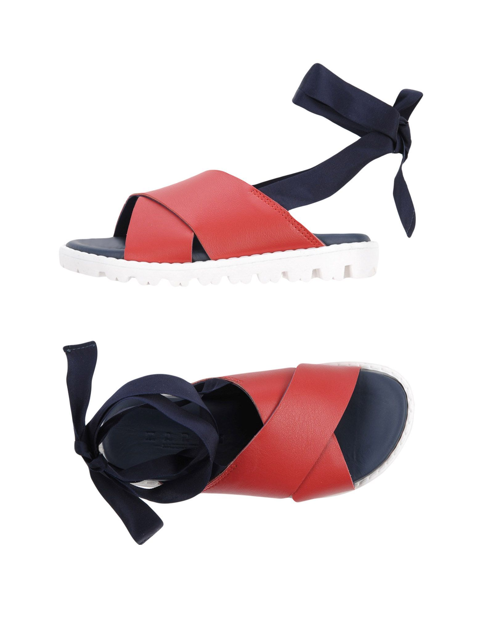 Marni Red Girl Leather Shoes