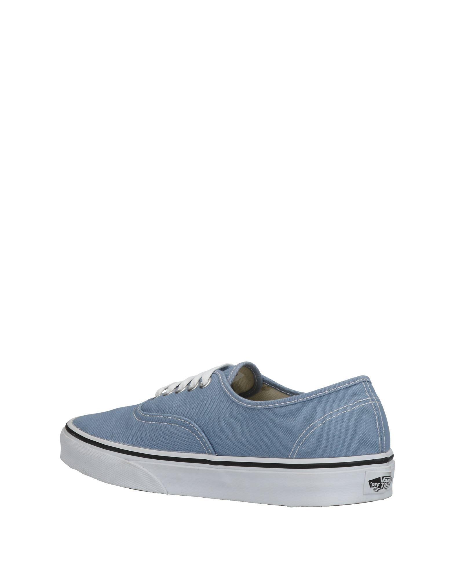 FOOTWEAR Vans Sky blue Woman Textile fibres