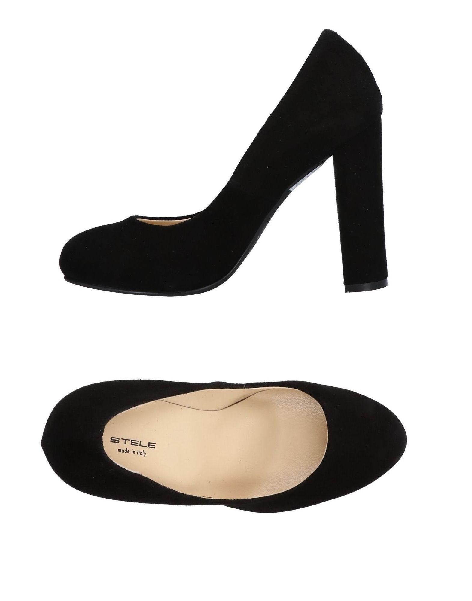 FOOTWEAR Stele Black Woman Leather