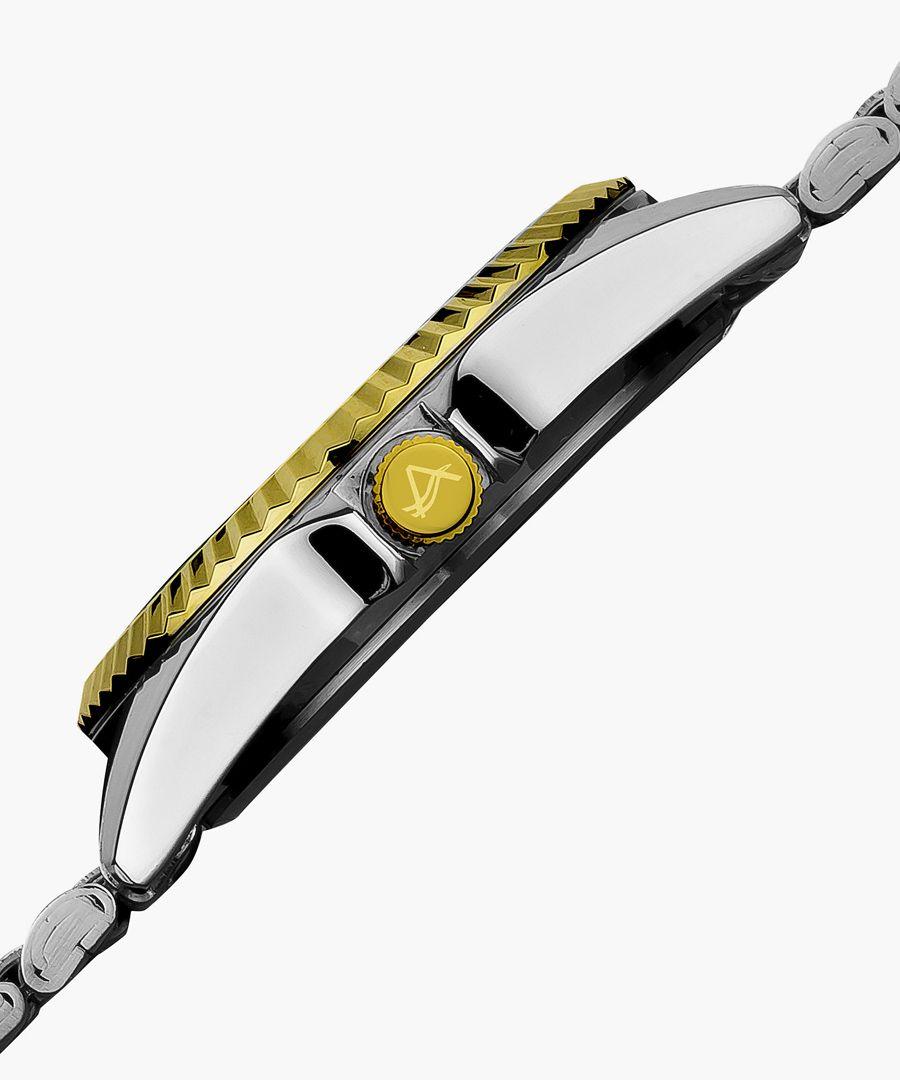 Dual-tone watch
