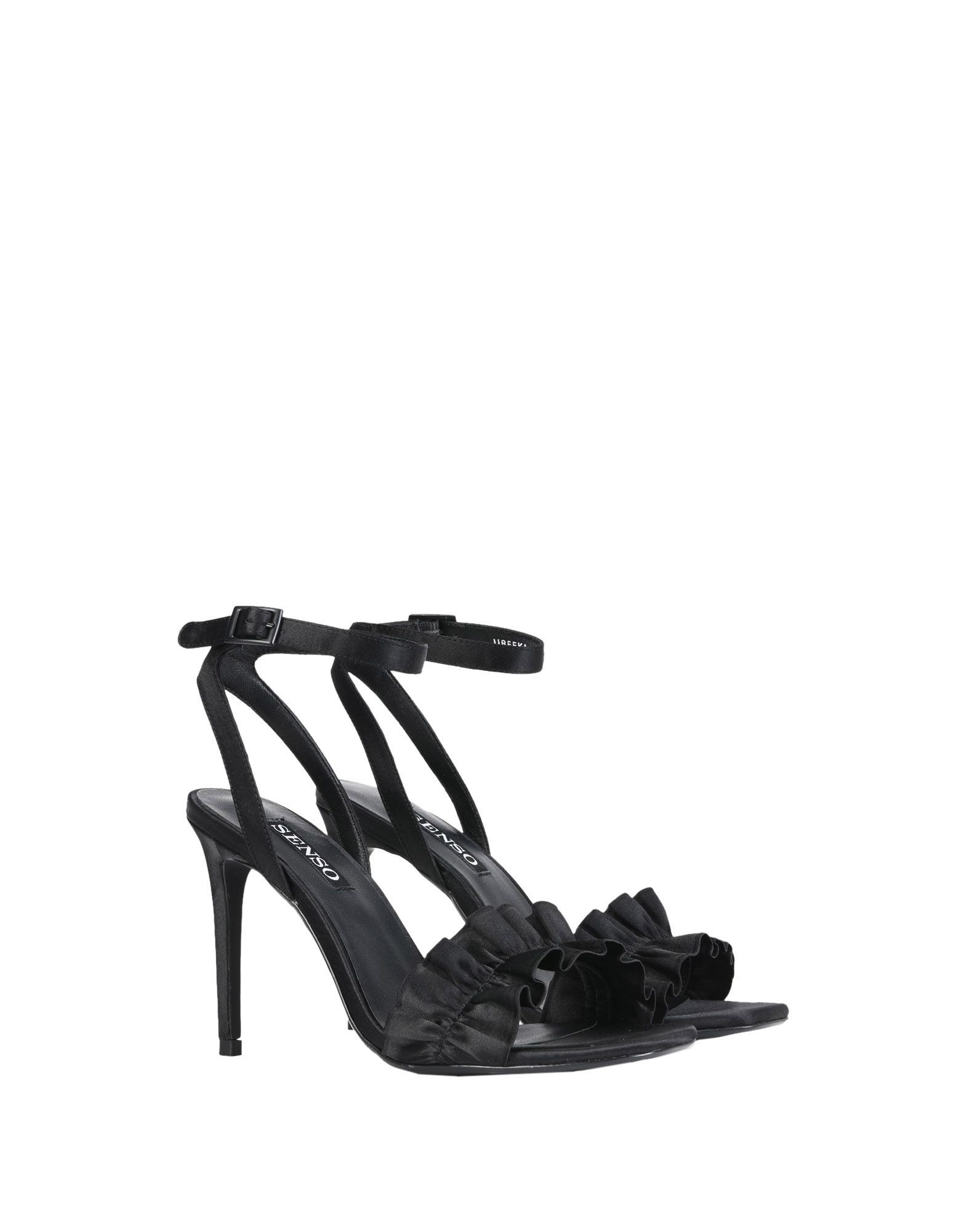 Senso Black Sandals