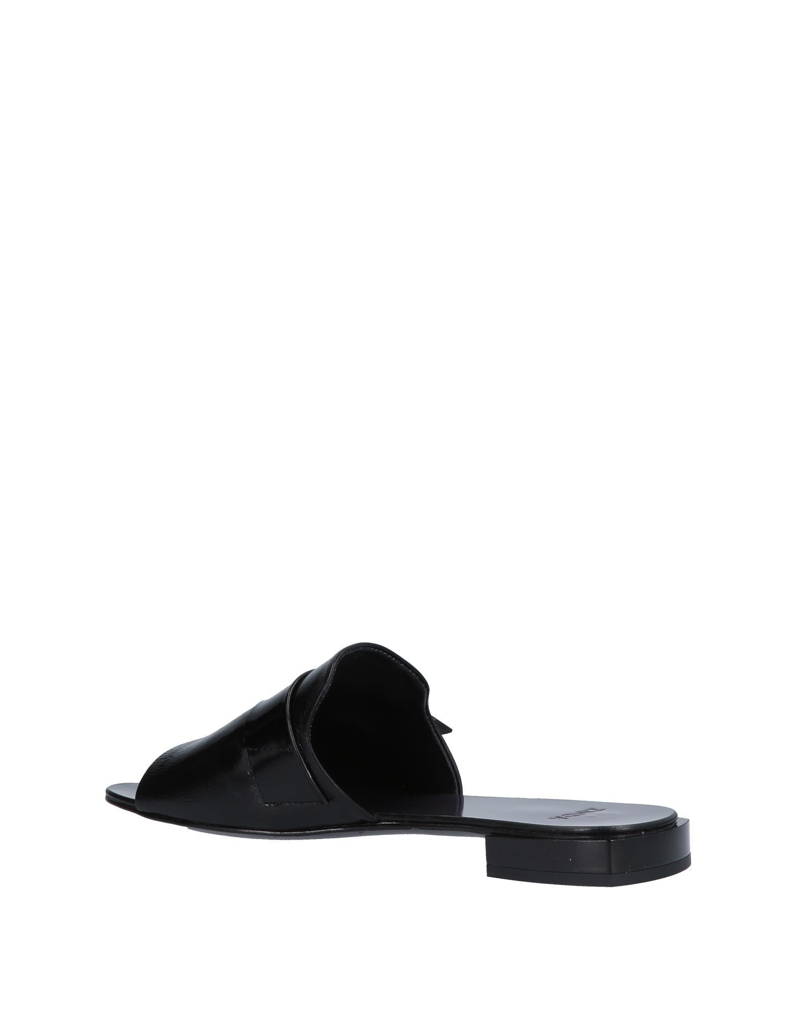 FOOTWEAR Zinda Black Woman Leather