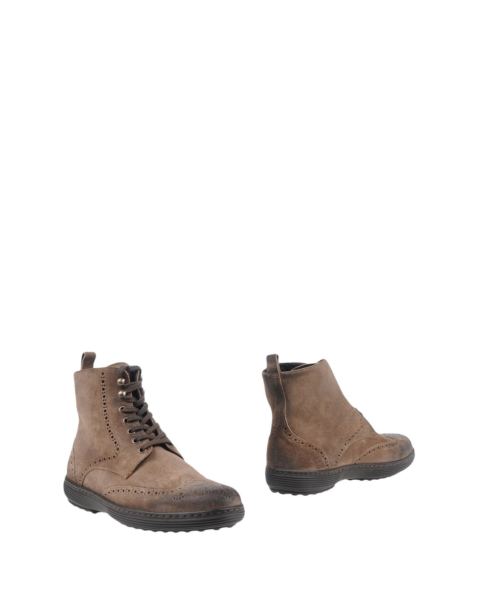 FOOTWEAR Calpierre Khaki Man Leather