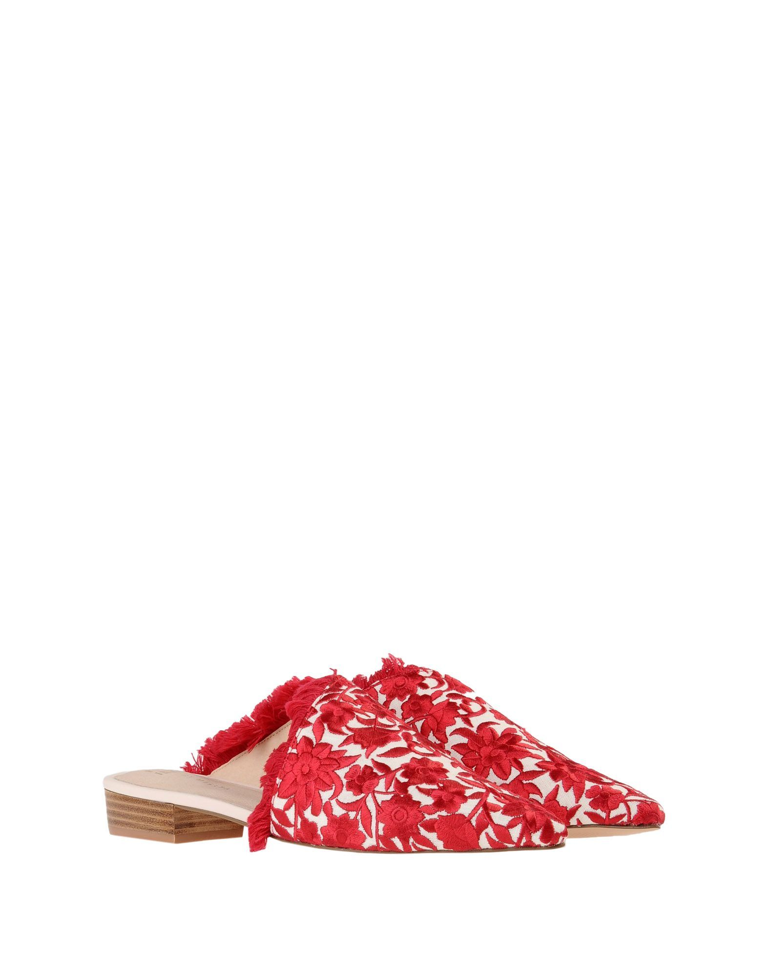 FOOTWEAR E8 By Miista Red Woman Textile fibres
