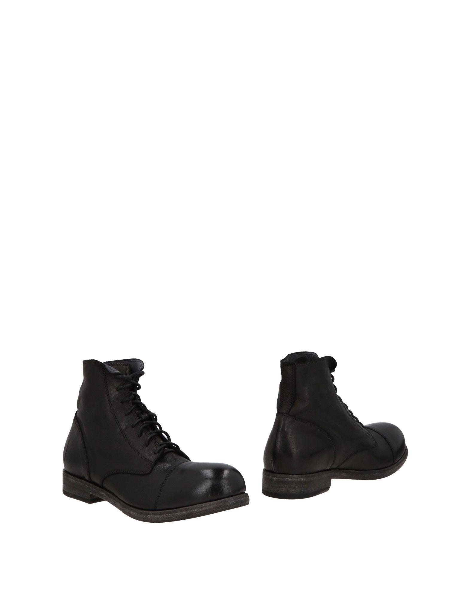 FOOTWEAR O.X.S. Black Man Leather
