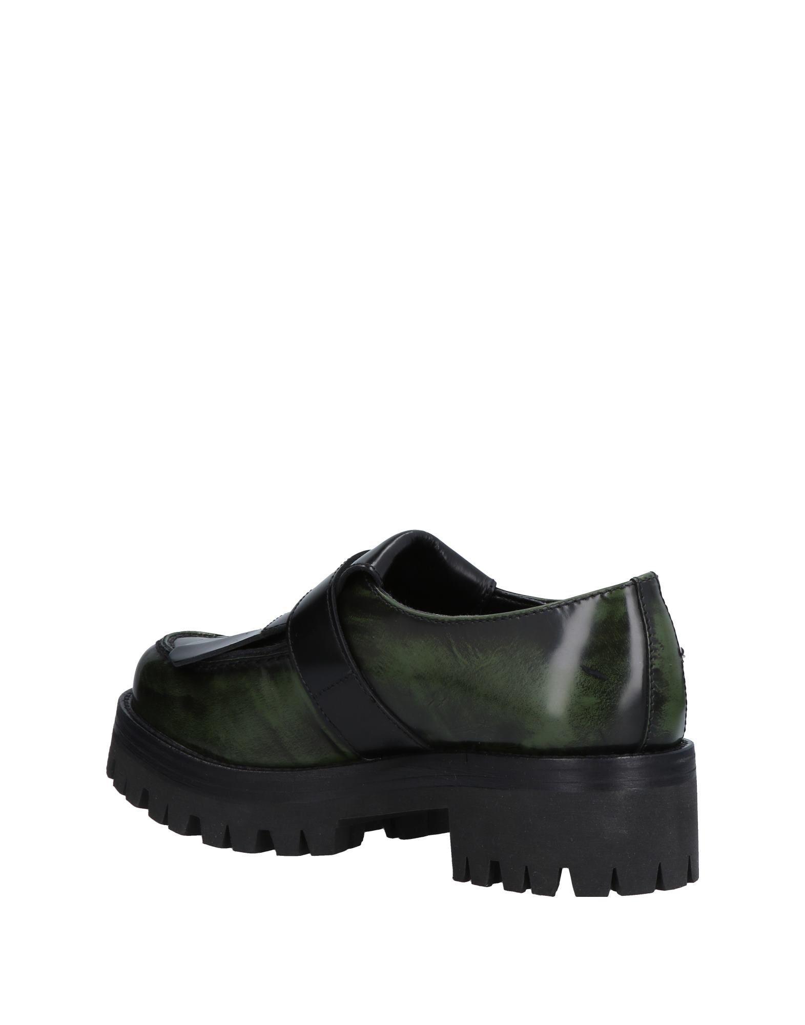 Footwear Cult Dark Green Women's Leather
