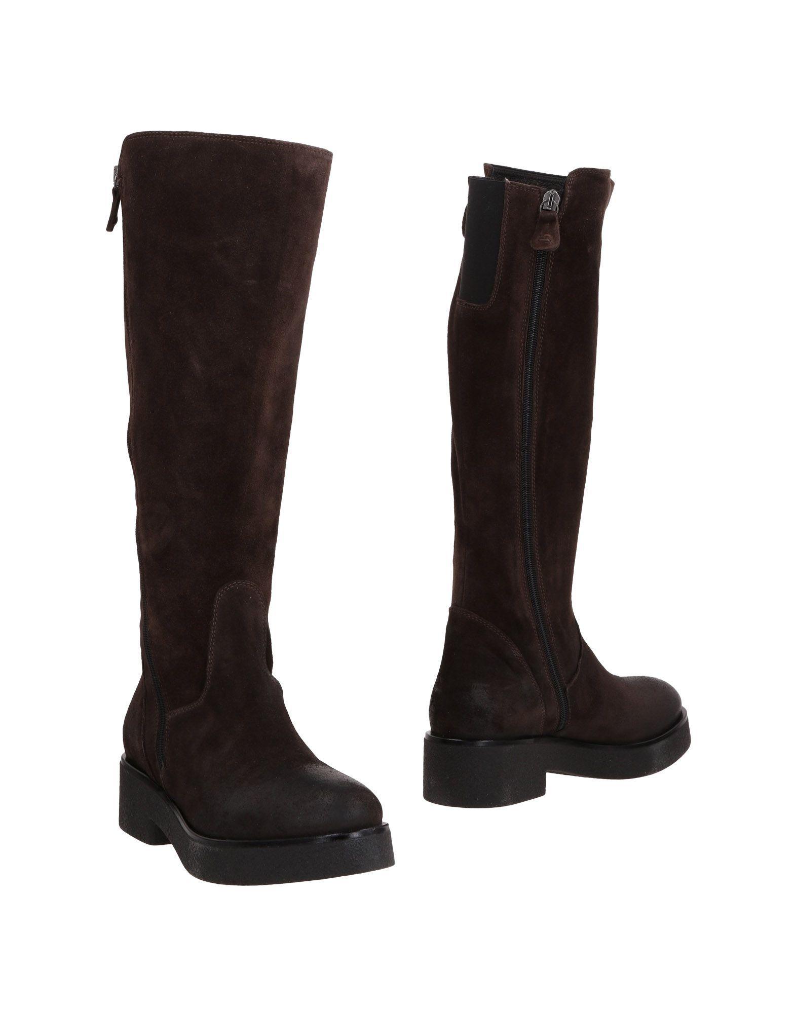 Footwear Mally Dark Brown Women's Leather