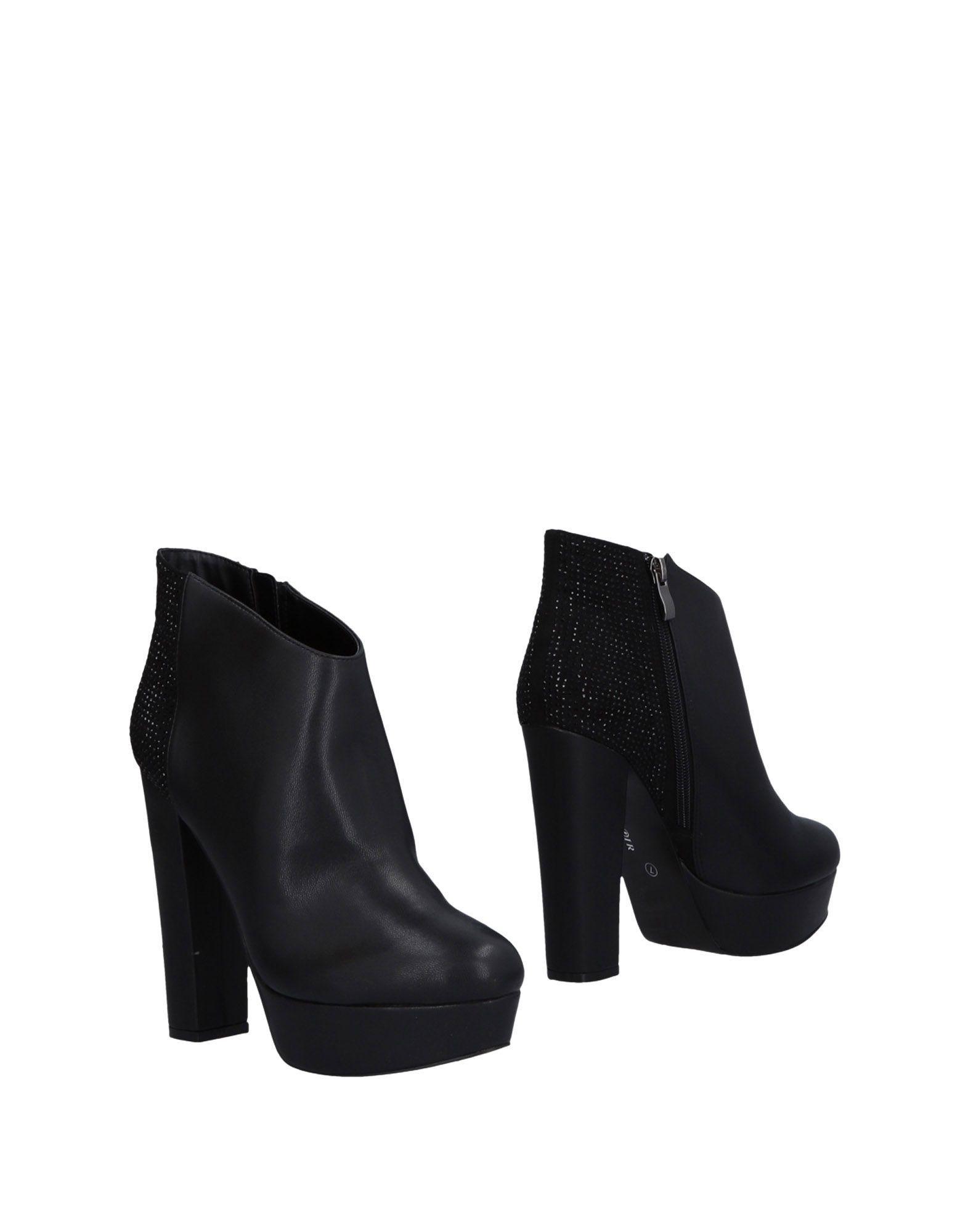 Cafenoir Black Heeled Ankle Boots