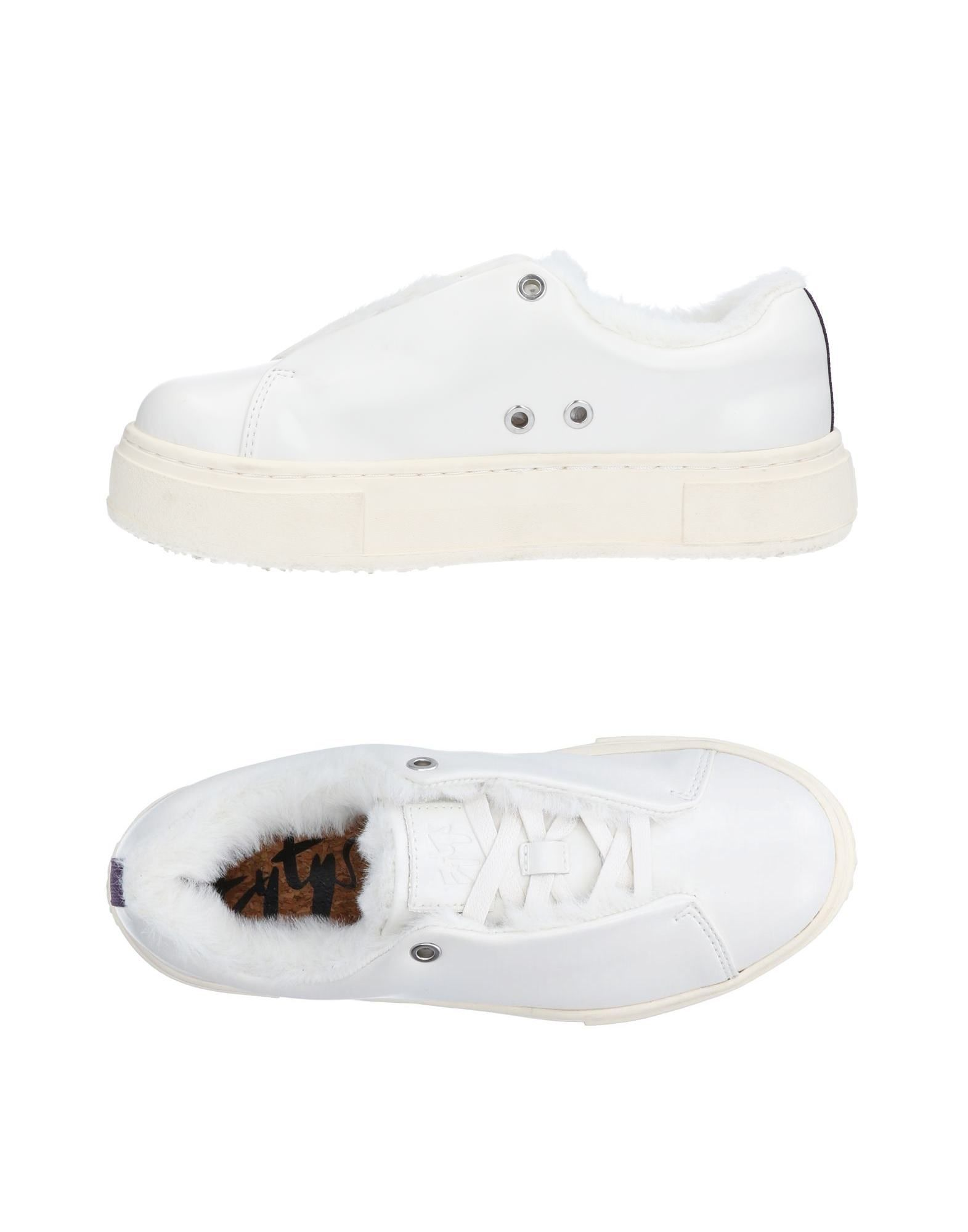 Eytys White Leather Sneakers