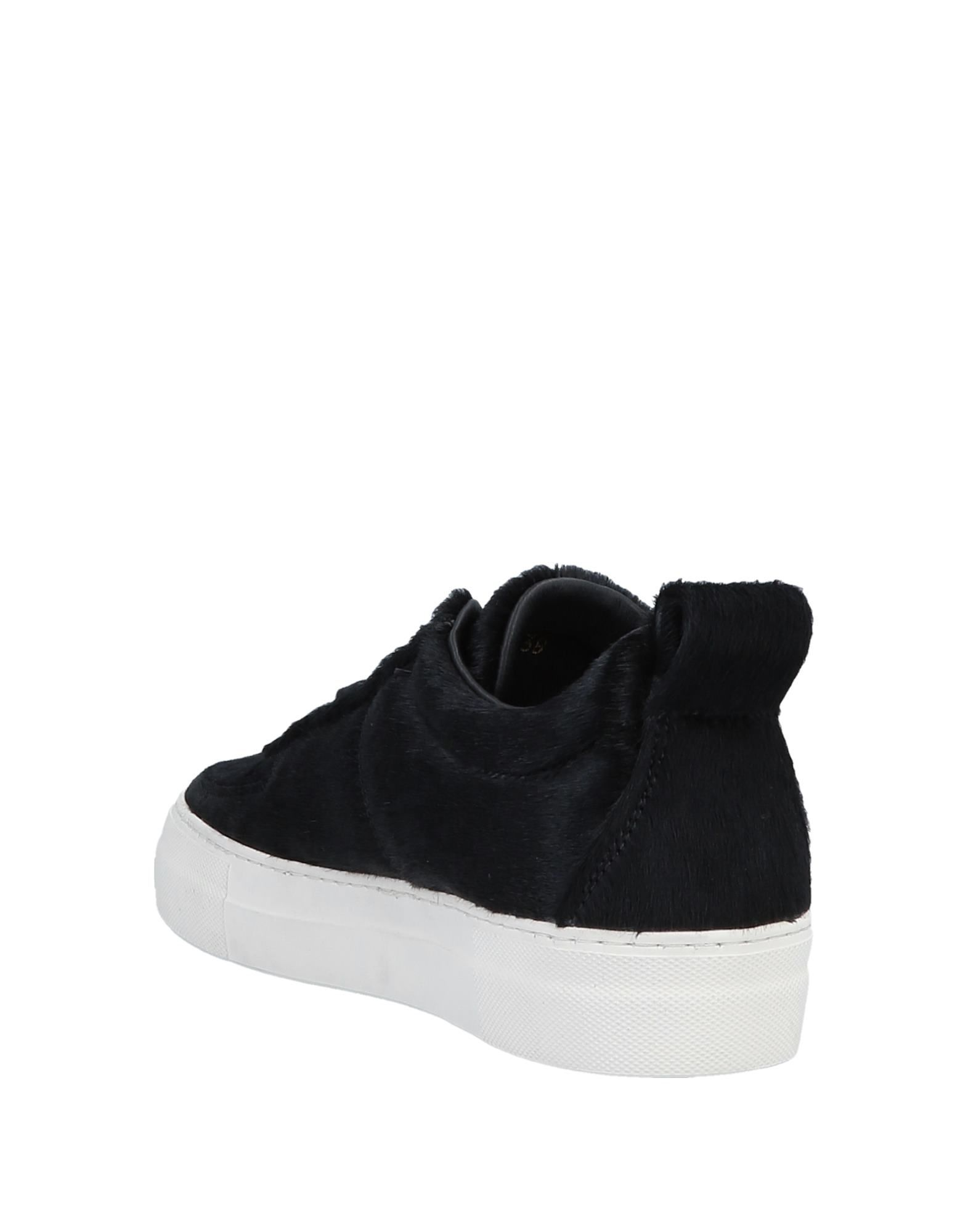 Helmut Lang Black Calf Leather Sneakers