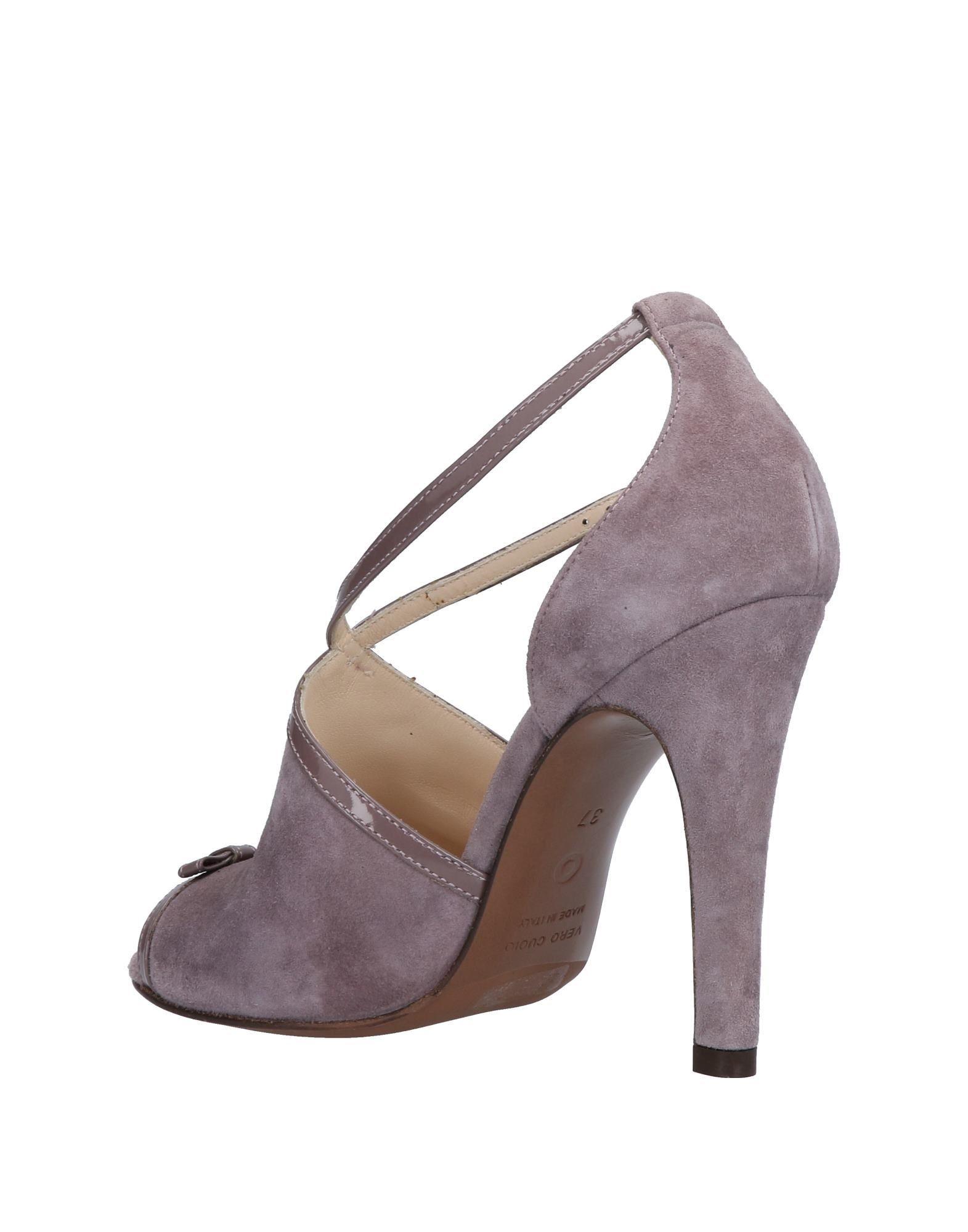 L' Autre Chose Dove Grey Leather Heeled Sandals
