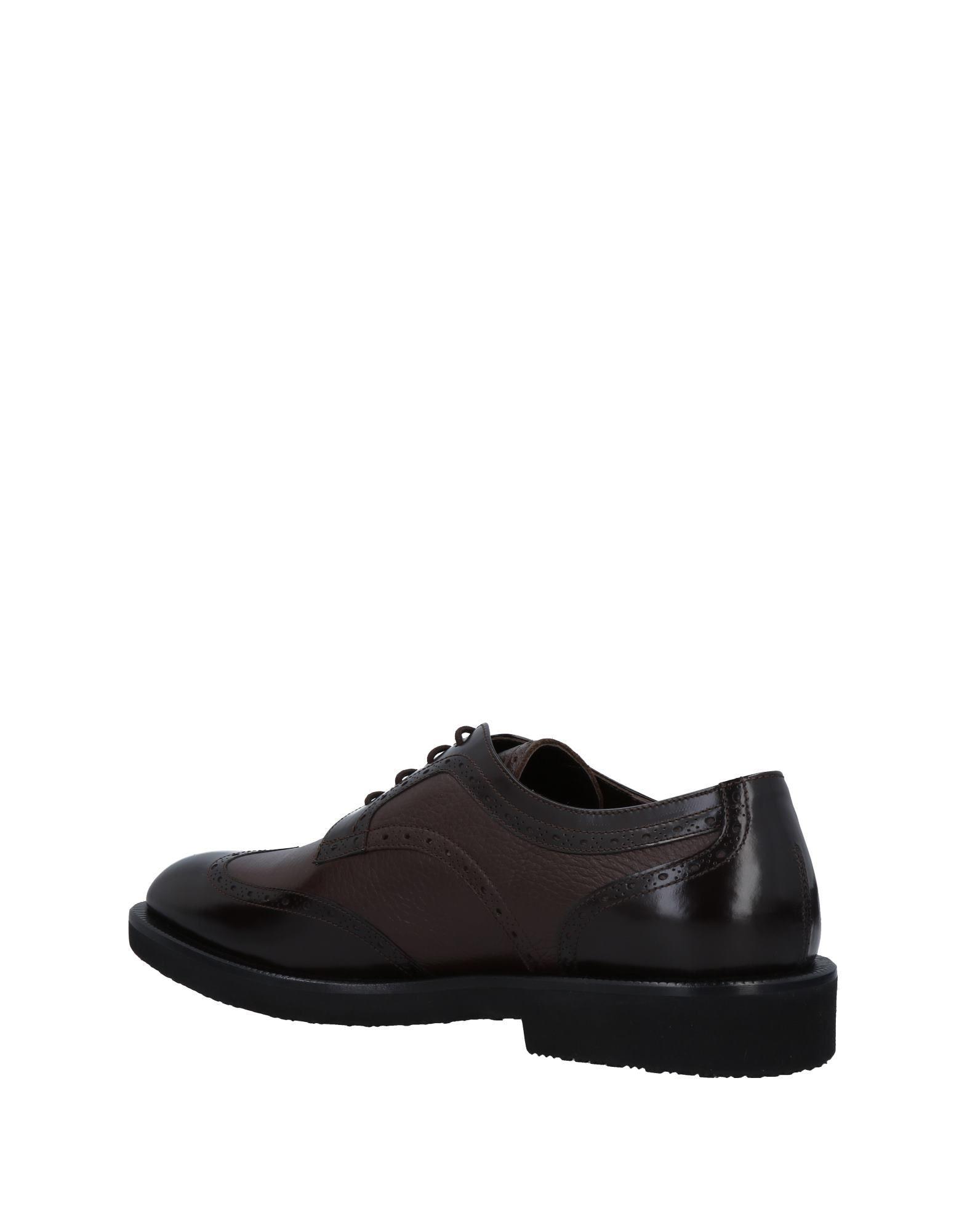 Bruno Magli Dark Brown Buck Leather Shoes
