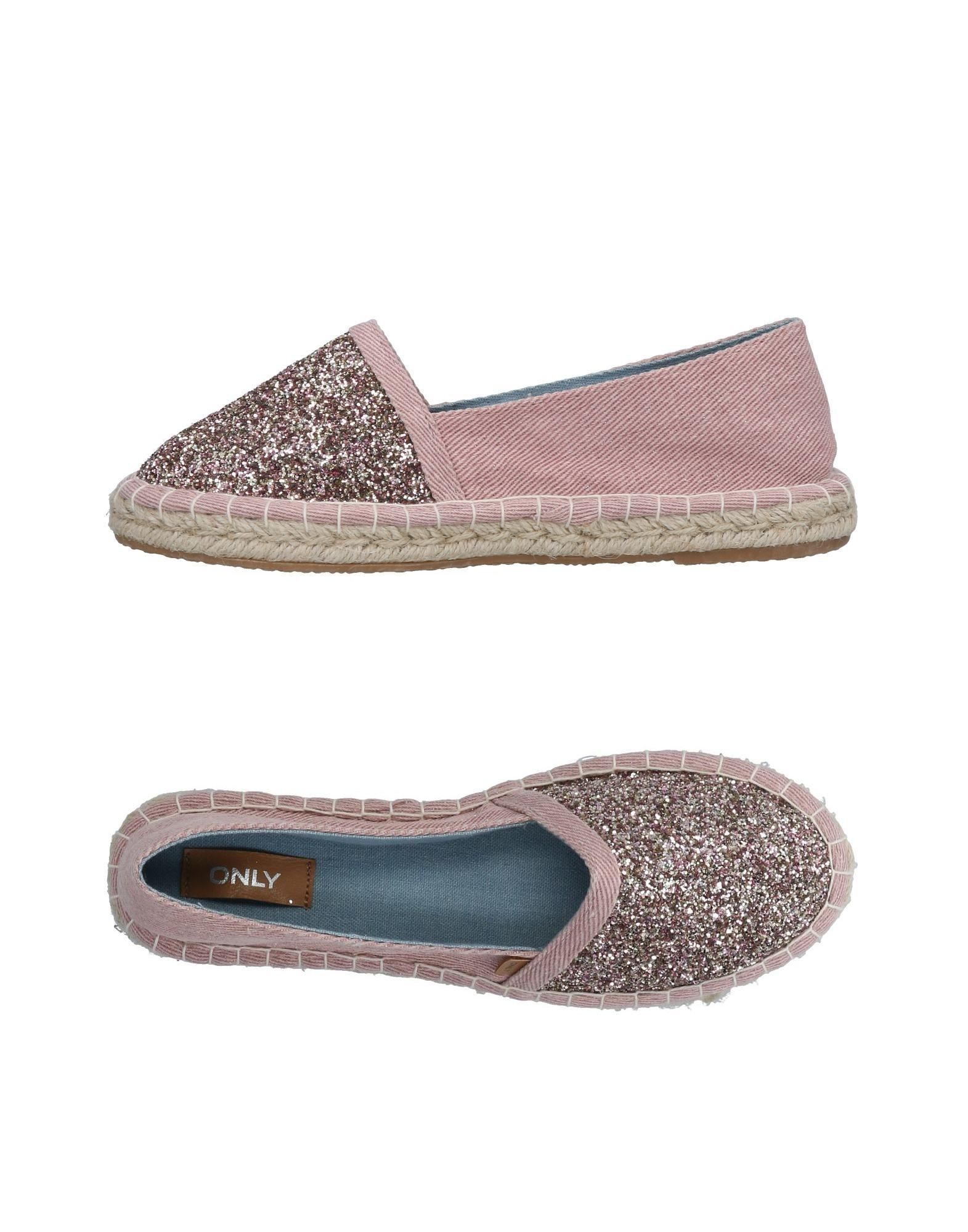 FOOTWEAR Only Pink Woman Textile fibres