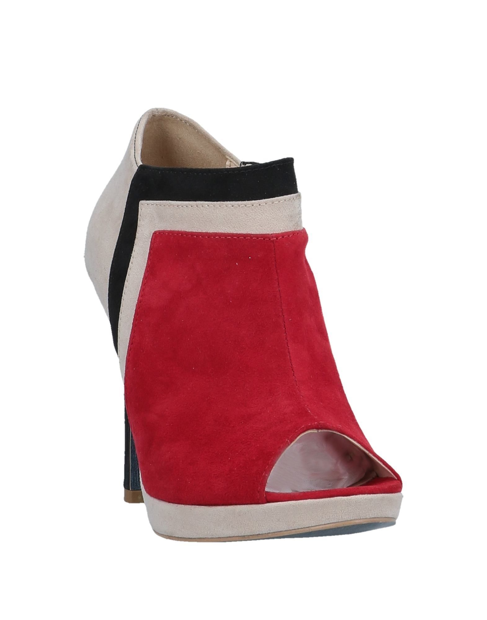 Trussardi Jeans Women's Shoe Boots Red Leather