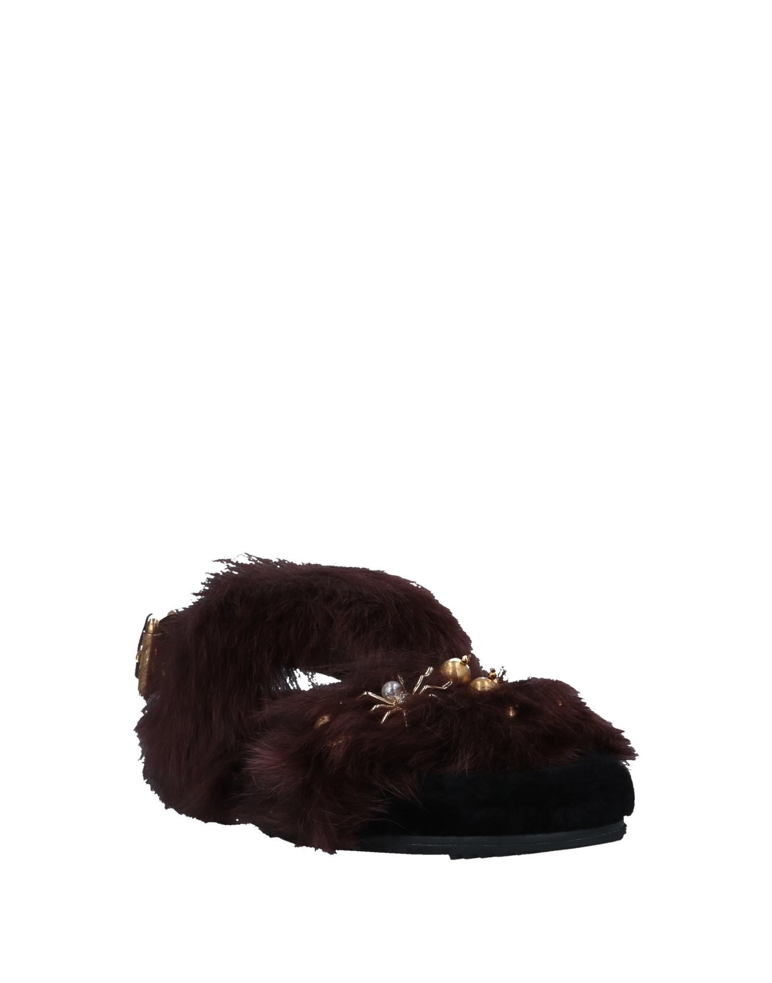 FOOTWEAR Carshoe Cocoa Woman Pelliccia di Pecora