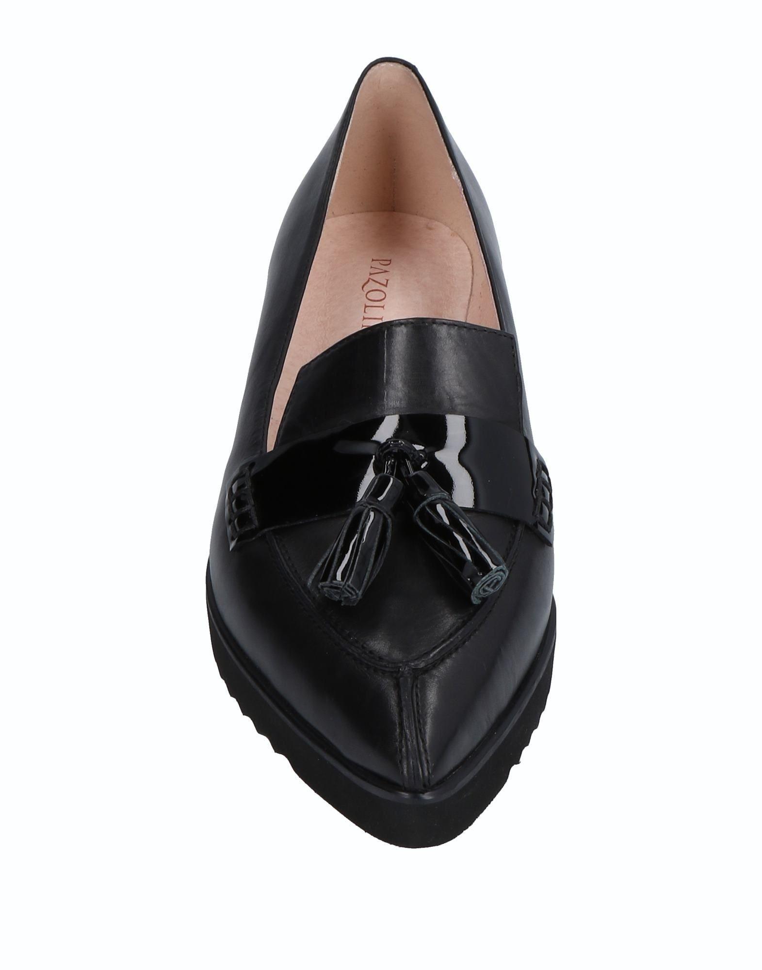 Carlo Pazolini Black Leather Loafers