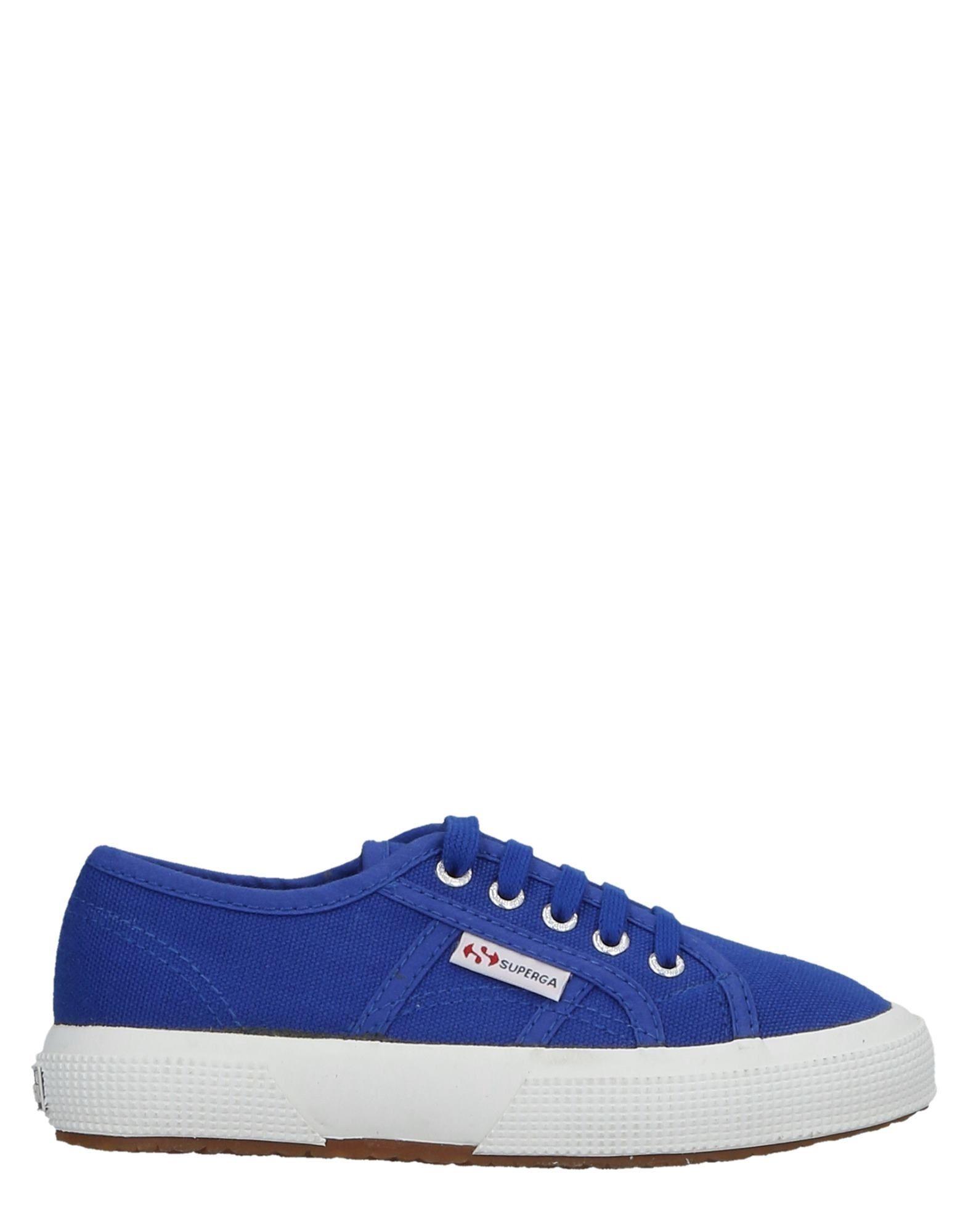 FOOTWEAR Superga Blue Unisex Textile fibres