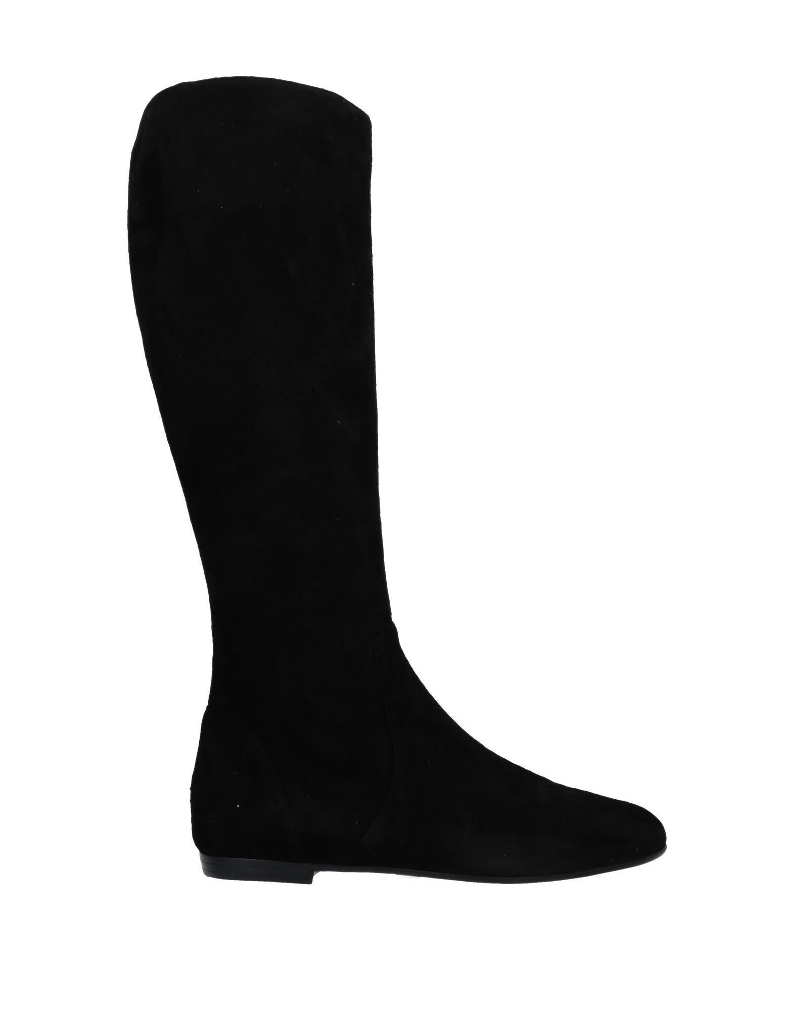 Giuseppe Zanotti Black Leather Knee High Boots