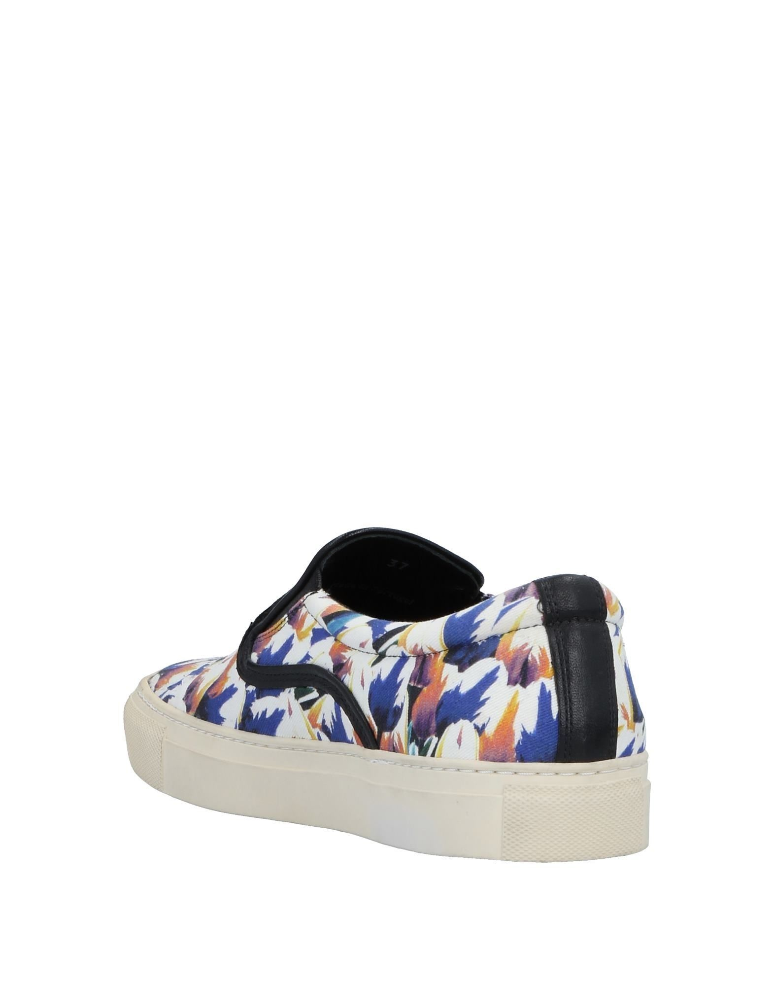 Mother Of Pearl Blue and Purple Sneakers