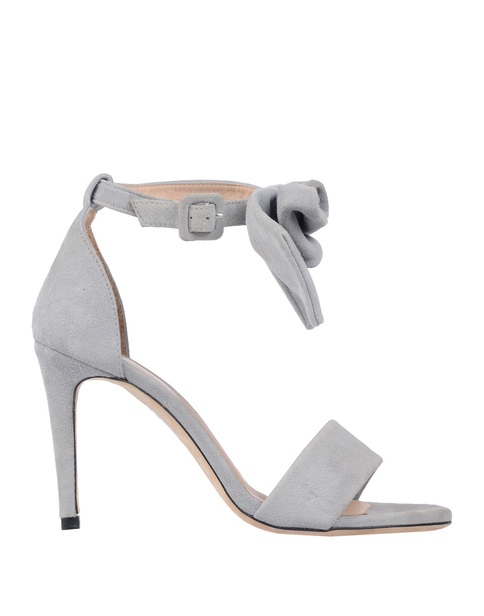 Paul & Joe Grey Leather Sandals