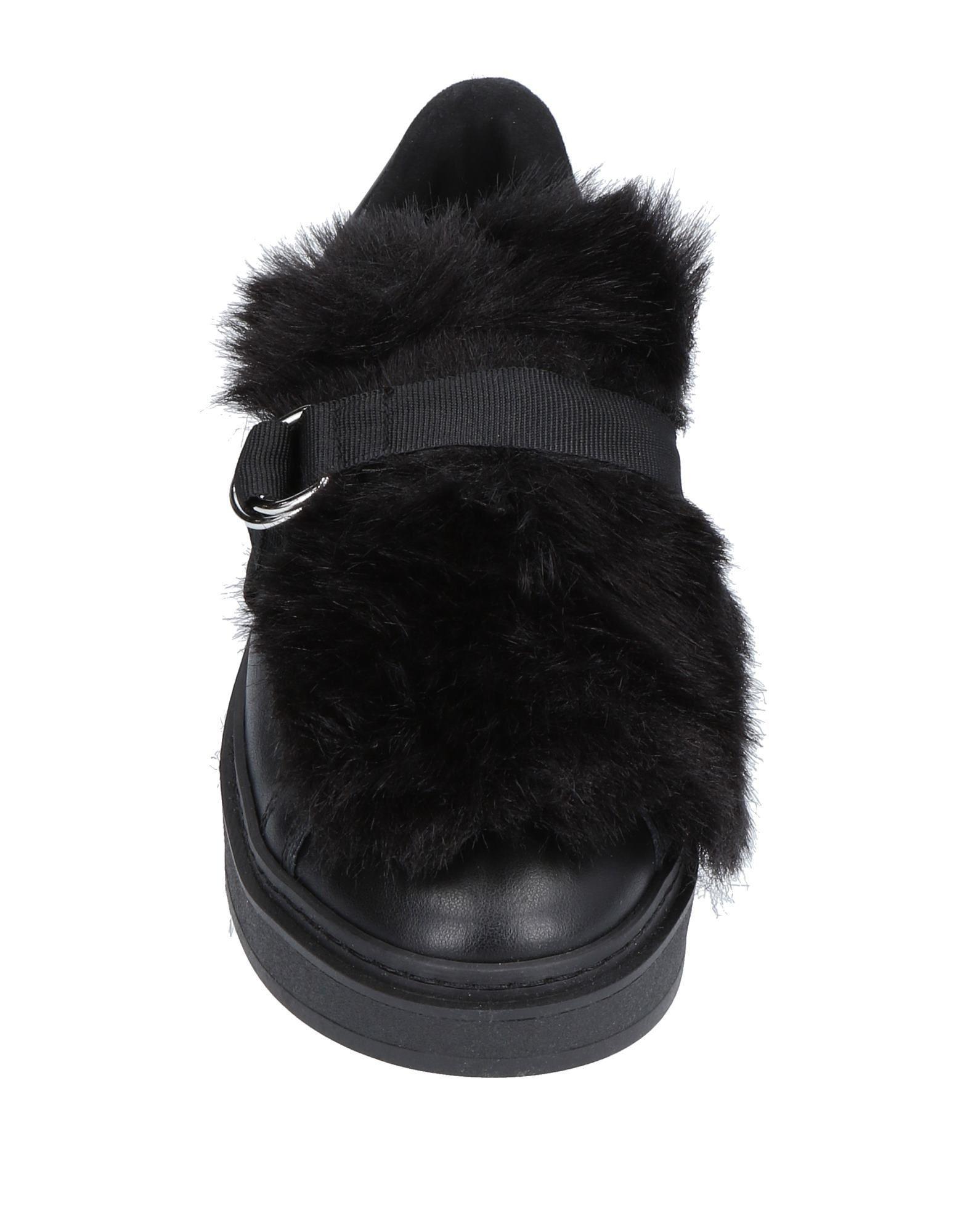 Liu Jo Black Leather Flats