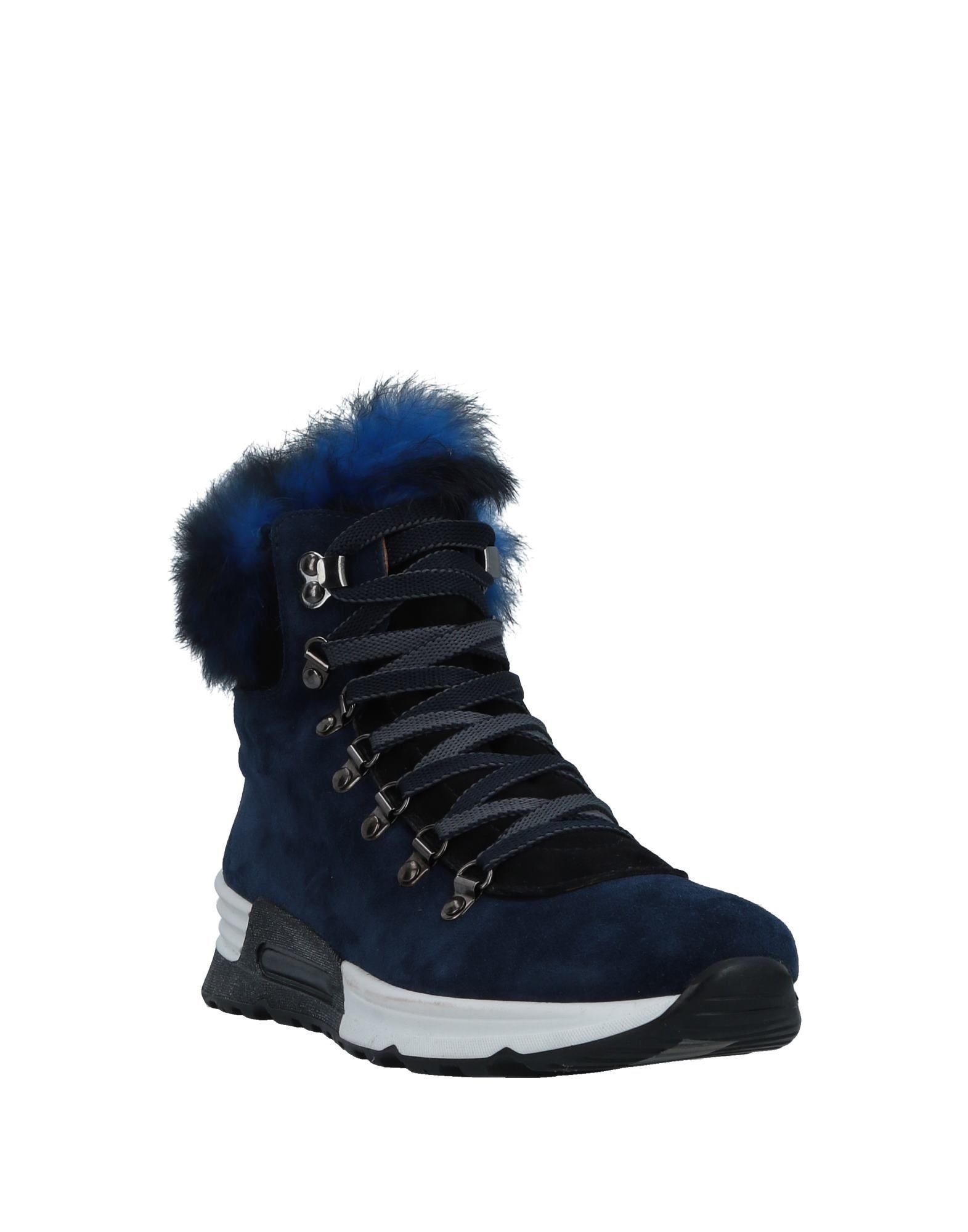 FOOTWEAR Joyks Blue Woman Leather