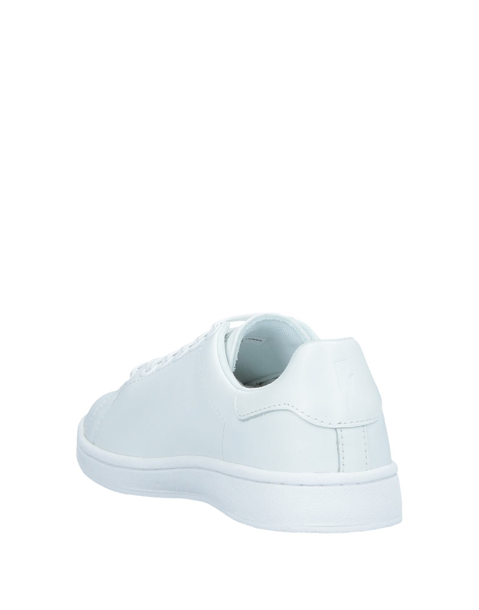 Neil Barrett White Leather Sneakers