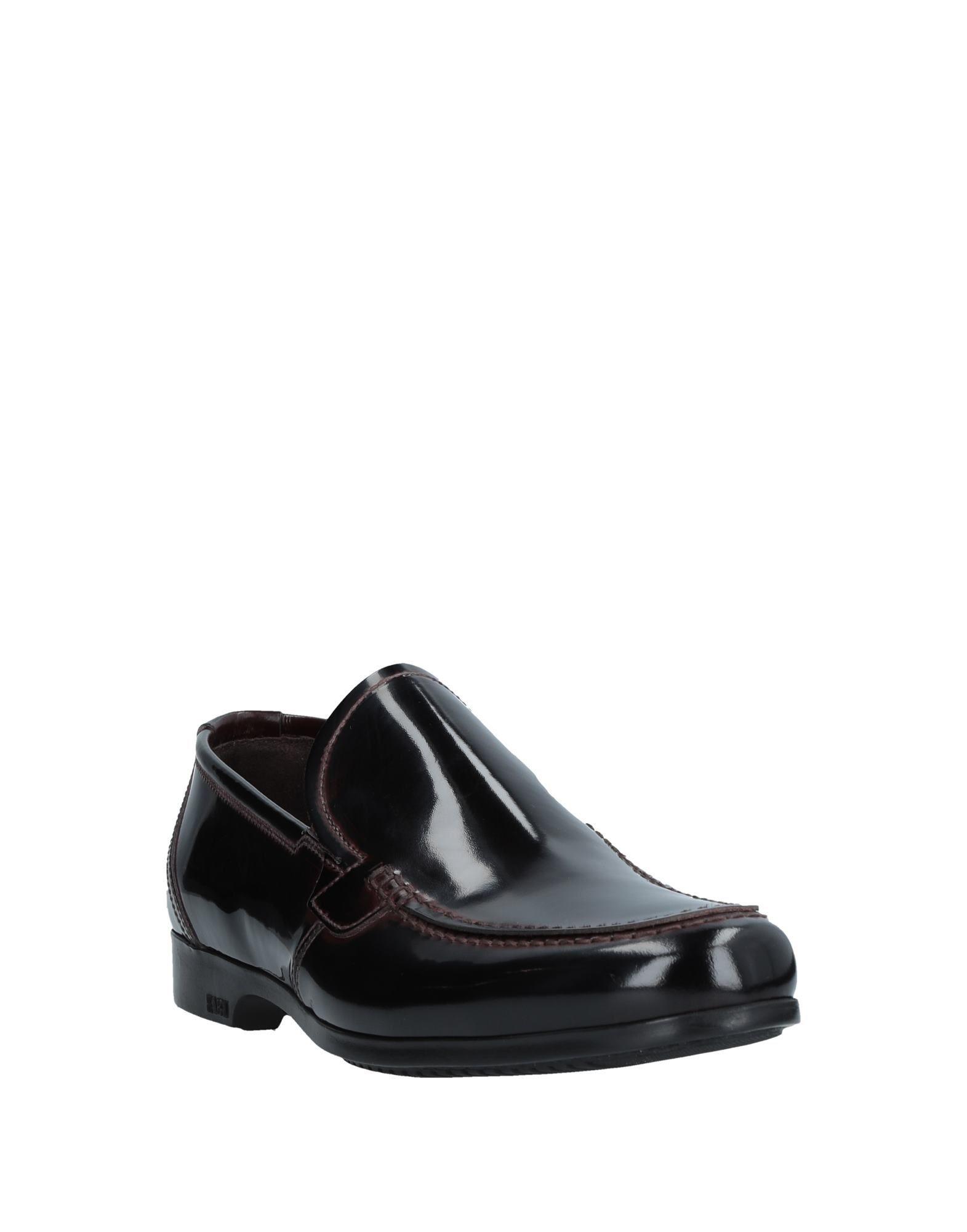FOOTWEAR Fabi Dark brown Man Leather