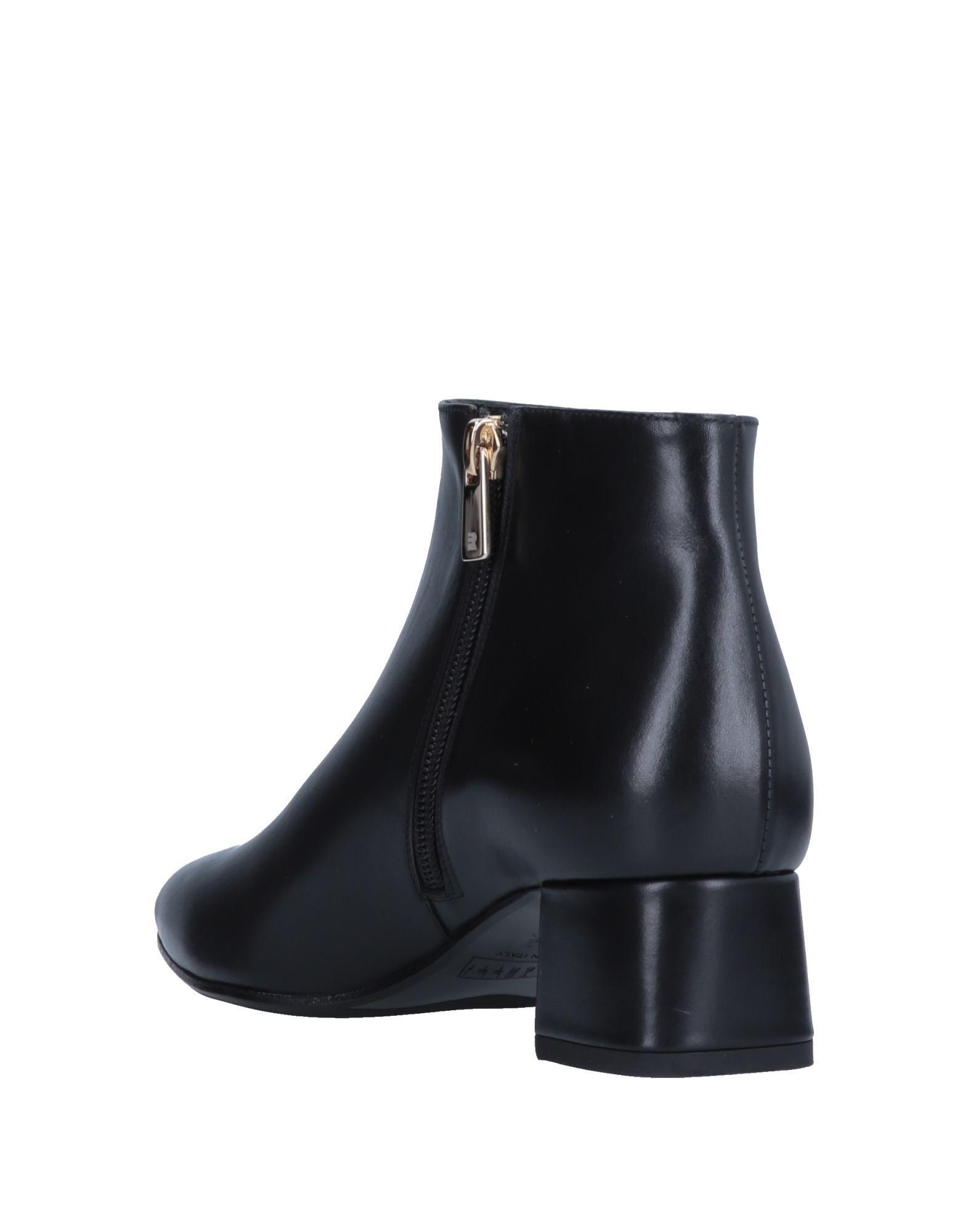 FOOTWEAR Fratelli Rossetti Black Woman Leather