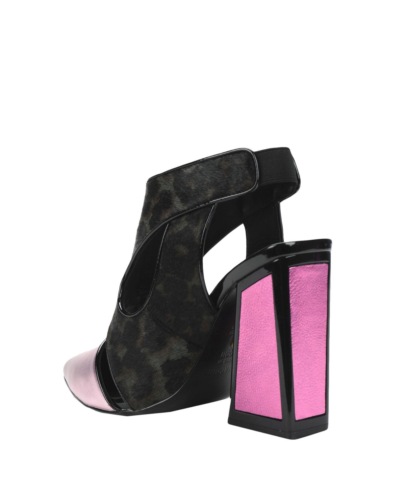 Kat Maconie Pink Leather Heels