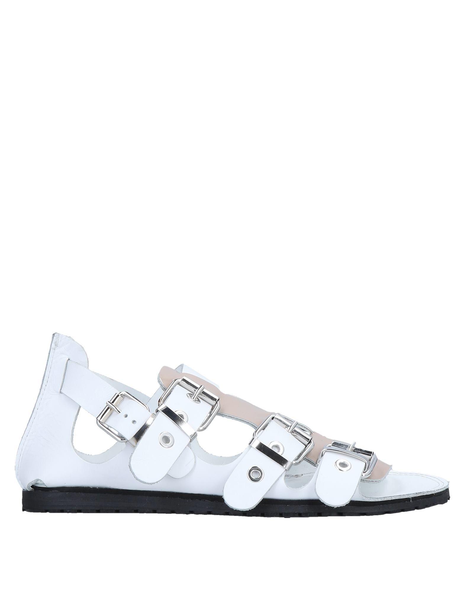 Divine Follie Pale Pink Calf Leather Sandals