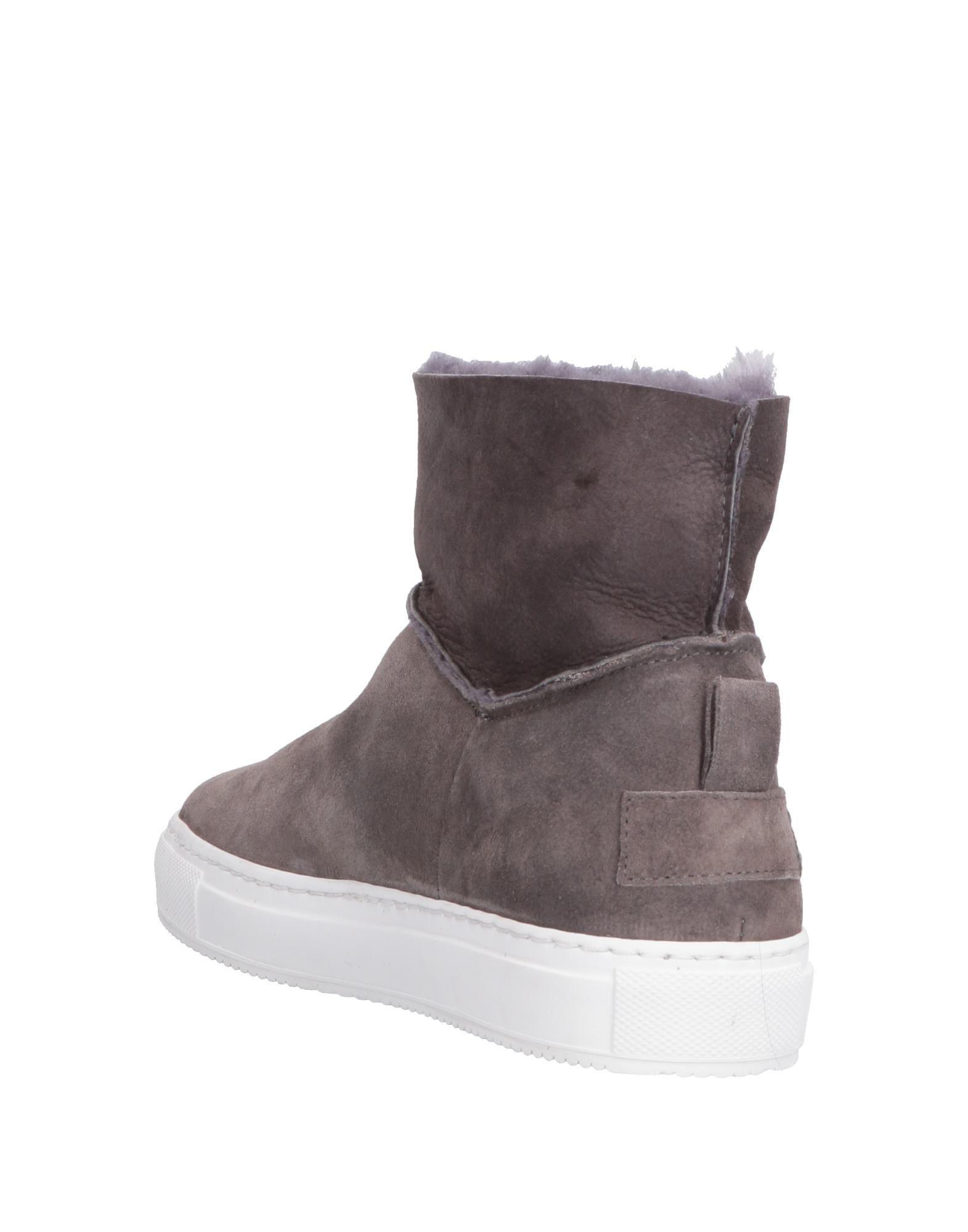 FOOTWEAR Boemos Grey Woman Leather