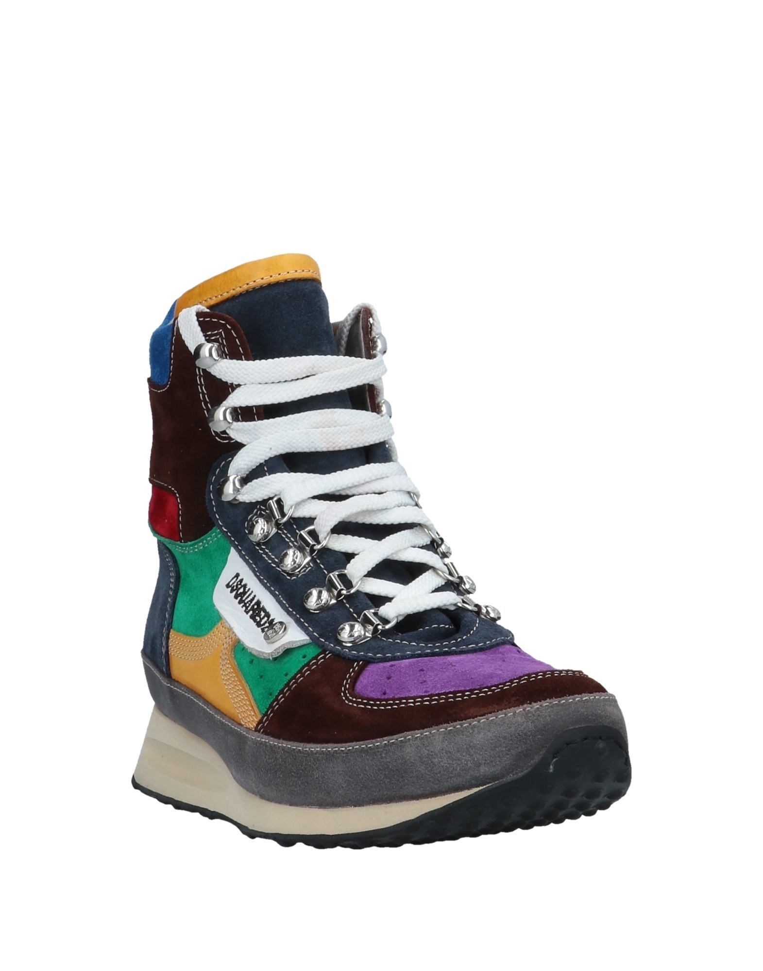 FOOTWEAR Dsquared2 Purple Man Leather