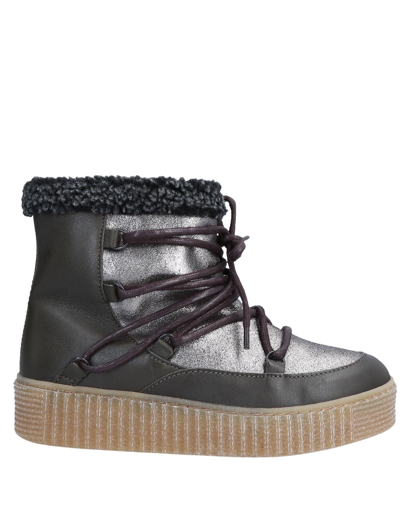 FOOTWEAR Pieces Lead Woman Leather