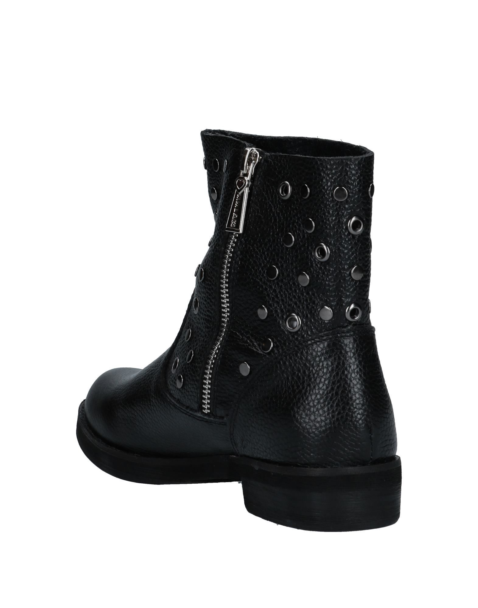 My Twin Twinset Women's Ankle Boots Black Leather