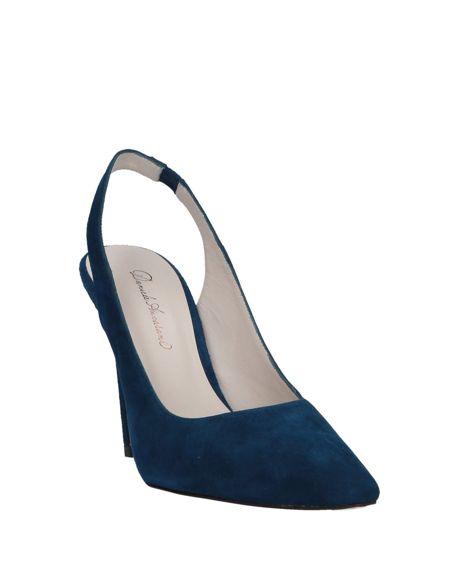 Daniele Ancarani Women's Courts Dark Blue Leather