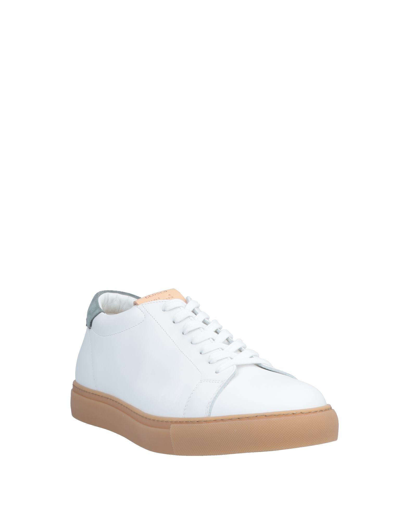 FOOTWEAR Closed White Man Leather