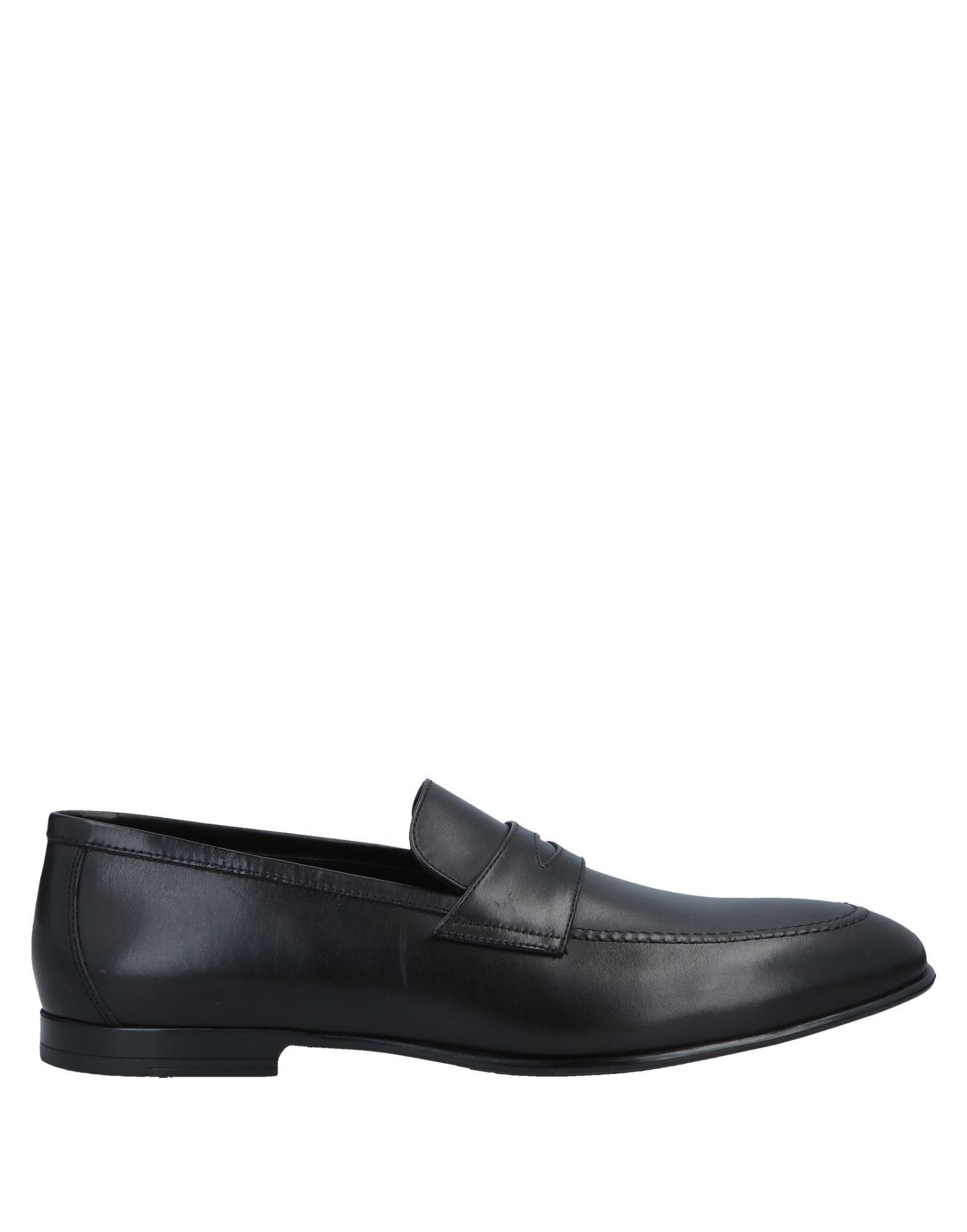 FOOTWEAR Doucal'S Black Man Calf