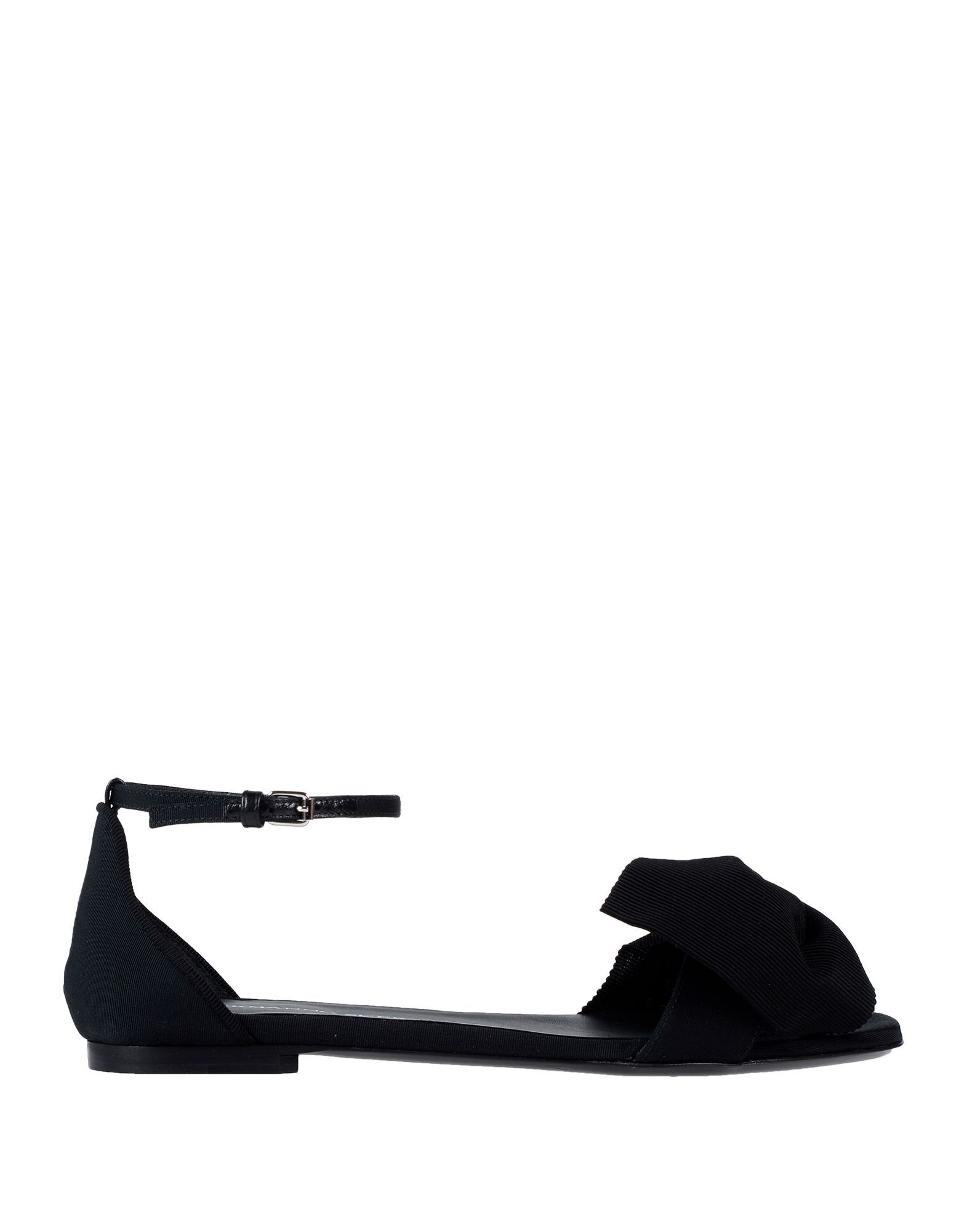 Ermanno Scervino Black Bow Detail Flats