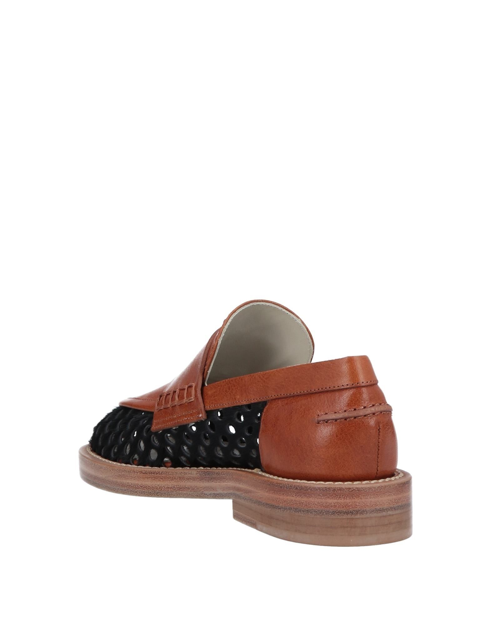 Marni Black Calf Leather Loafers